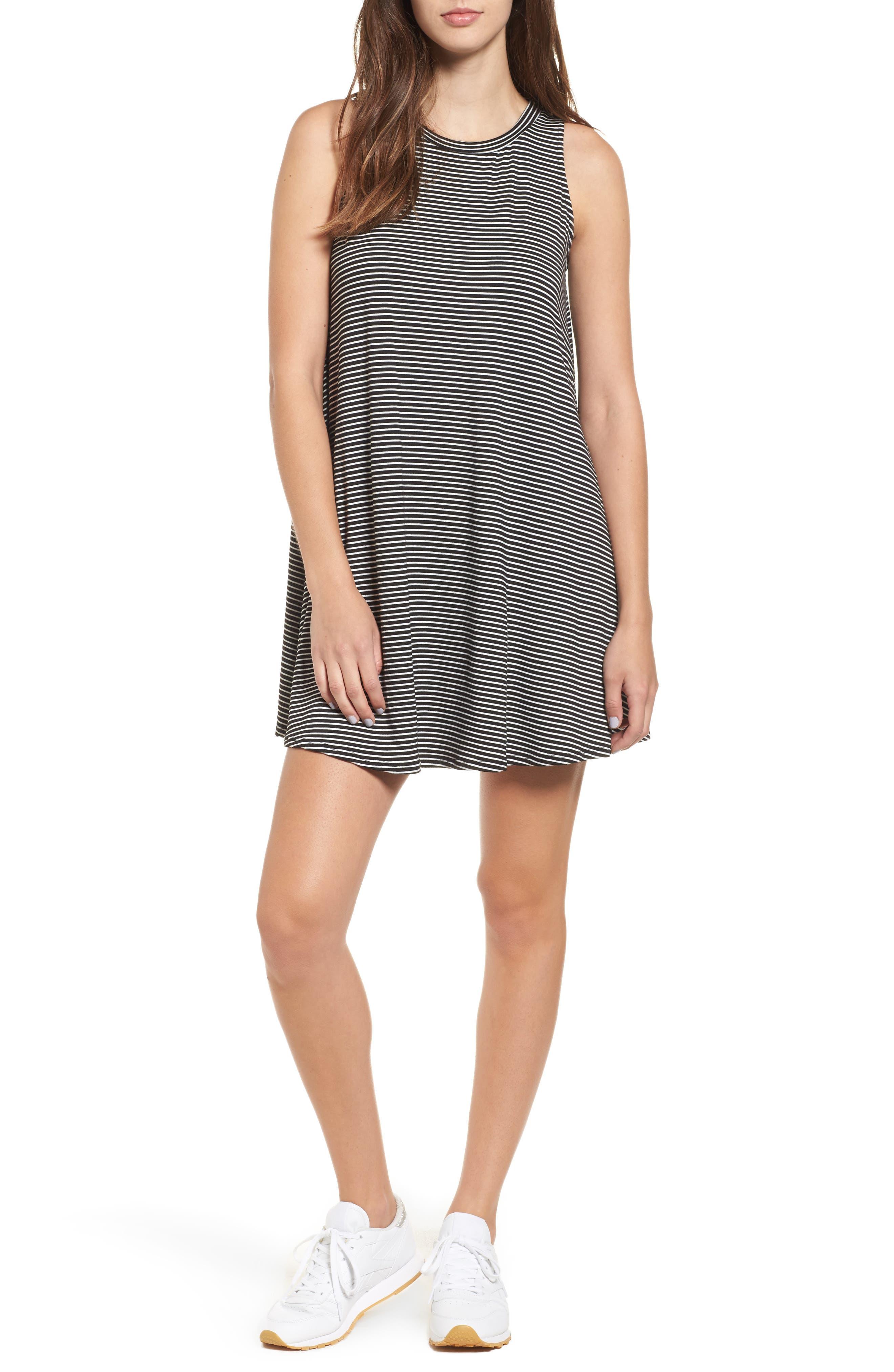 Soprano Stripe Shift Dress
