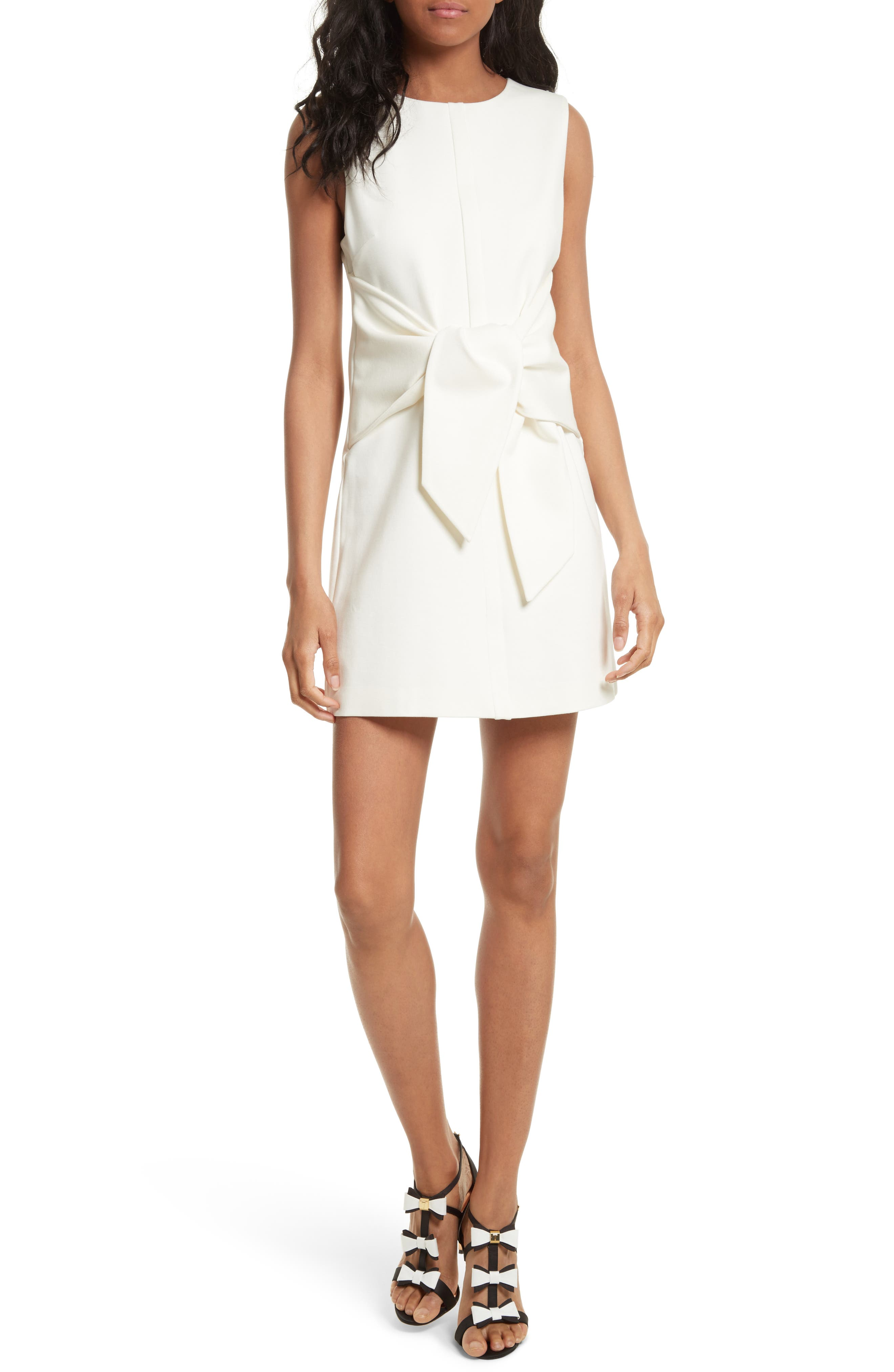 Ted Baker London Papron Tie Front Dress