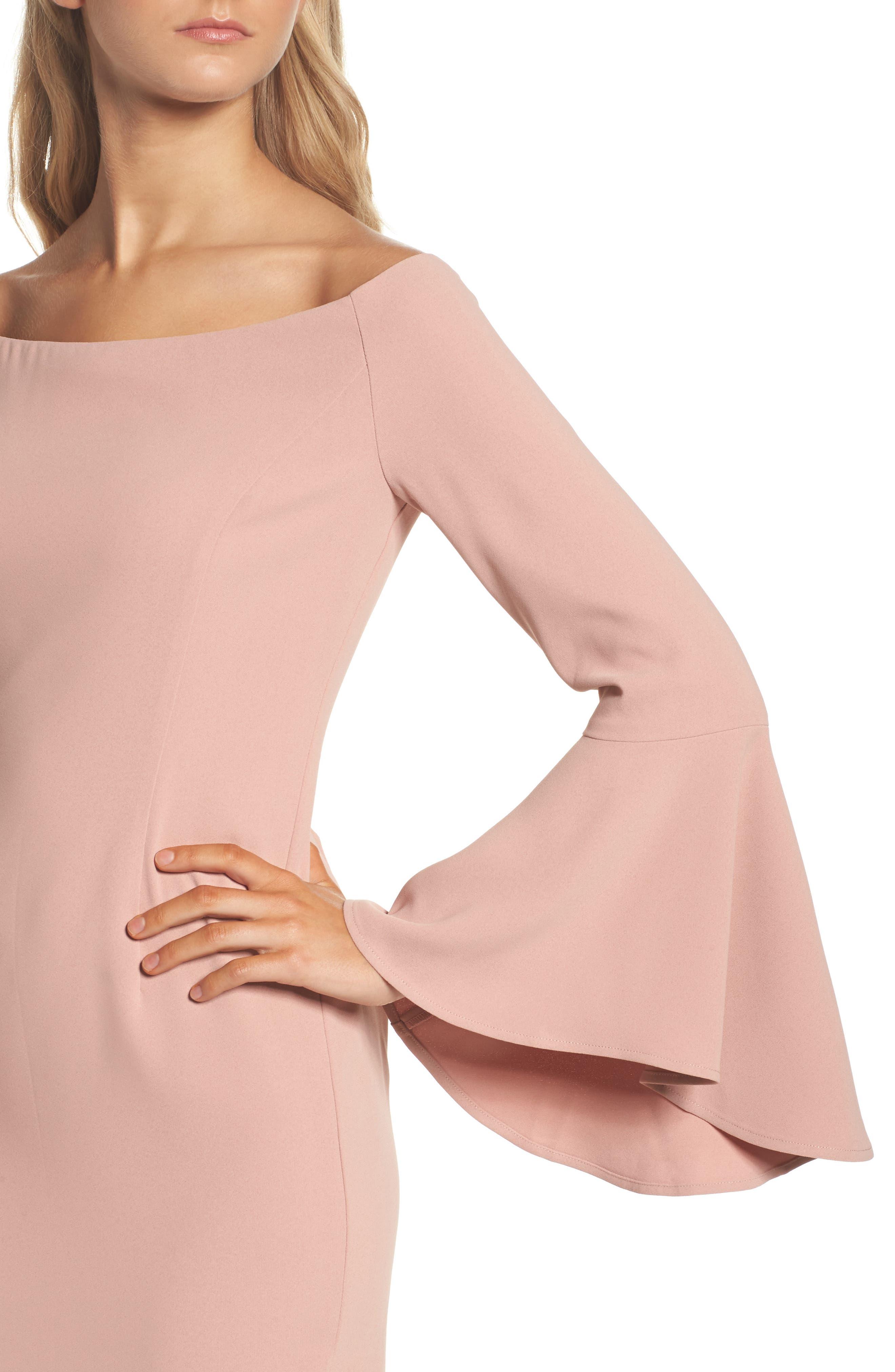 Alternate Image 5  - Bardot 'Solange' Off the Shoulder Midi Dress