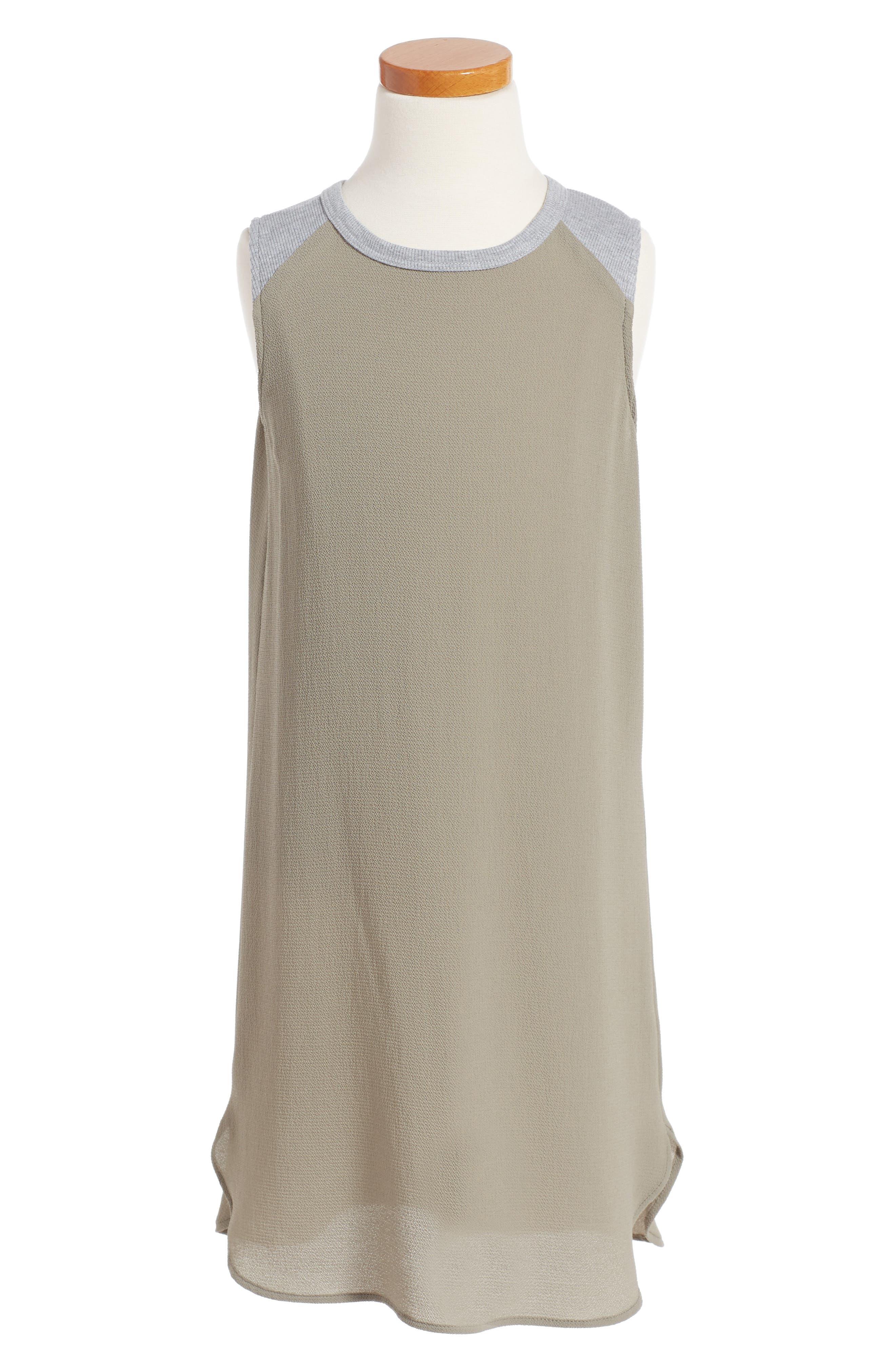 h.i.p. Sleeveless Shift Dress (Big Girls)