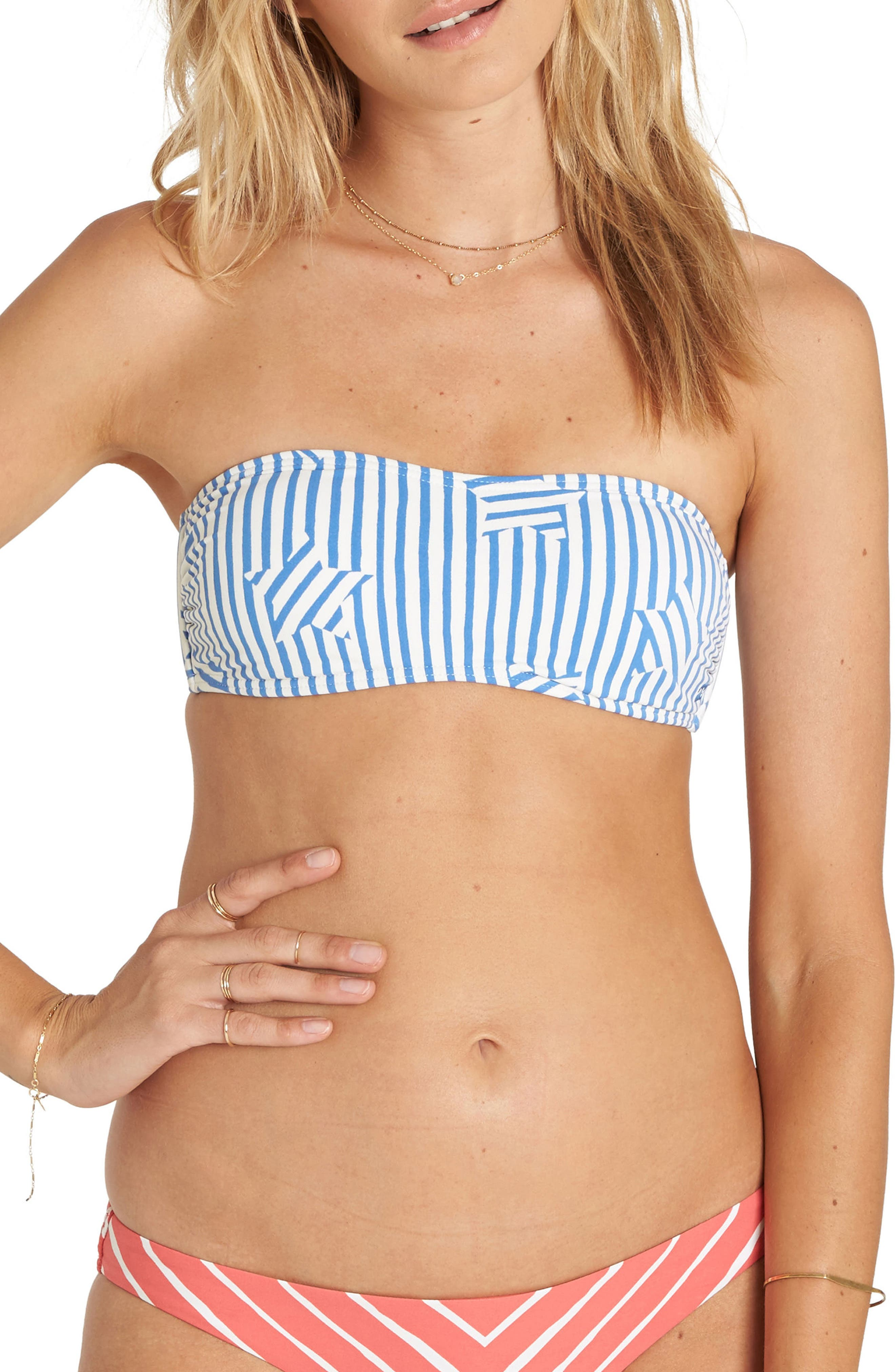 Billabong Off Tide Bandeau Bikini Top