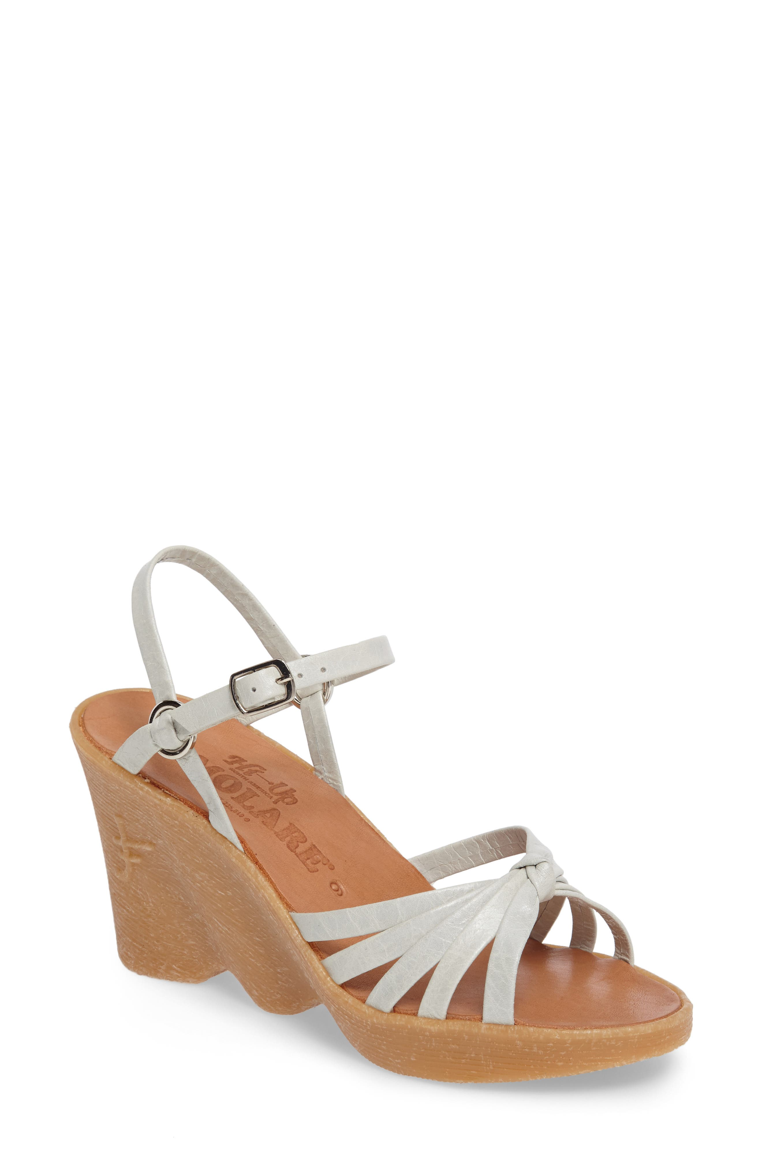 Famolare Knotty Monkey Wedge Sandal (Women)