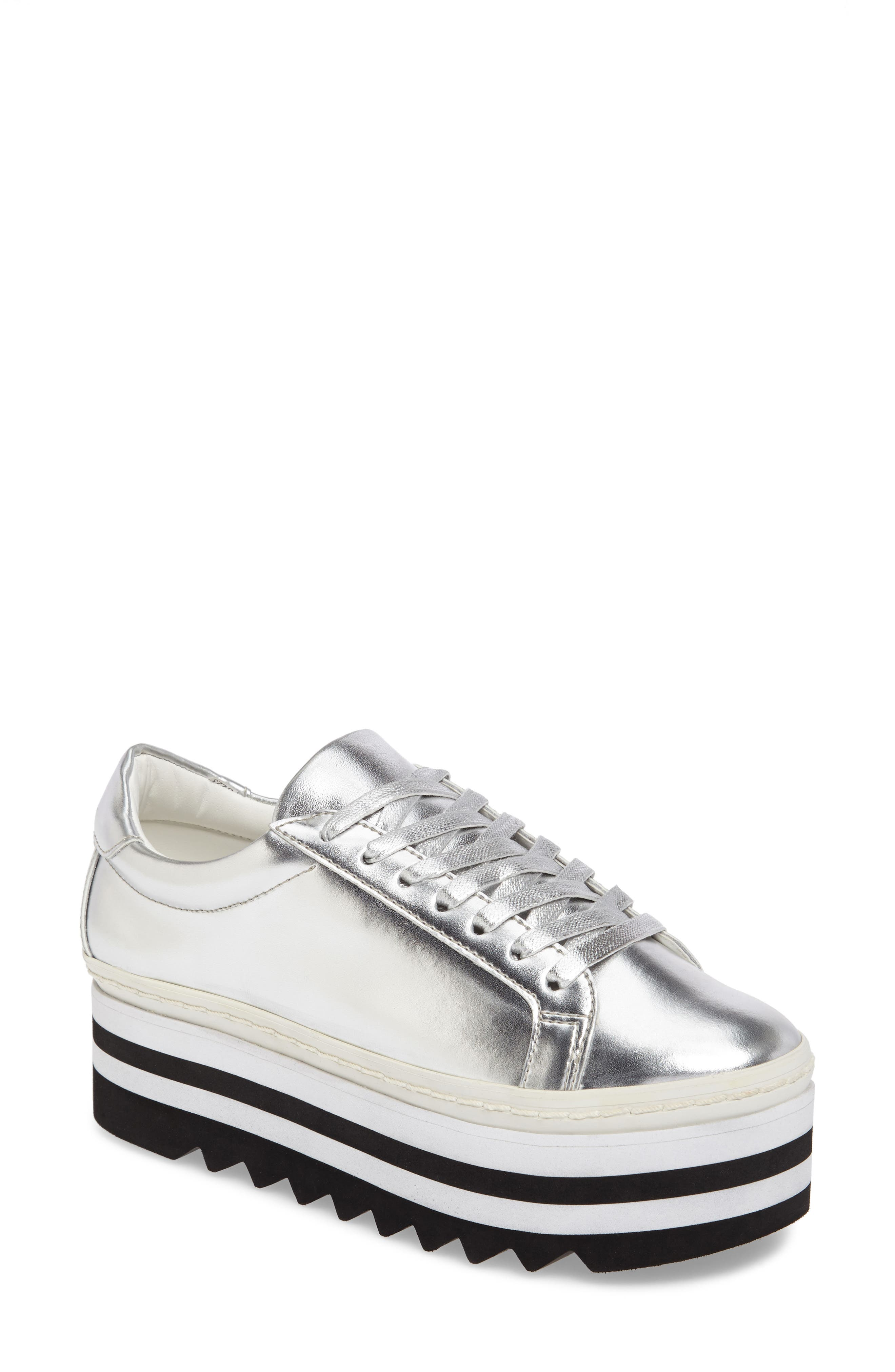 Steve Madden Perry Lugged Platform Sneaker (Women)