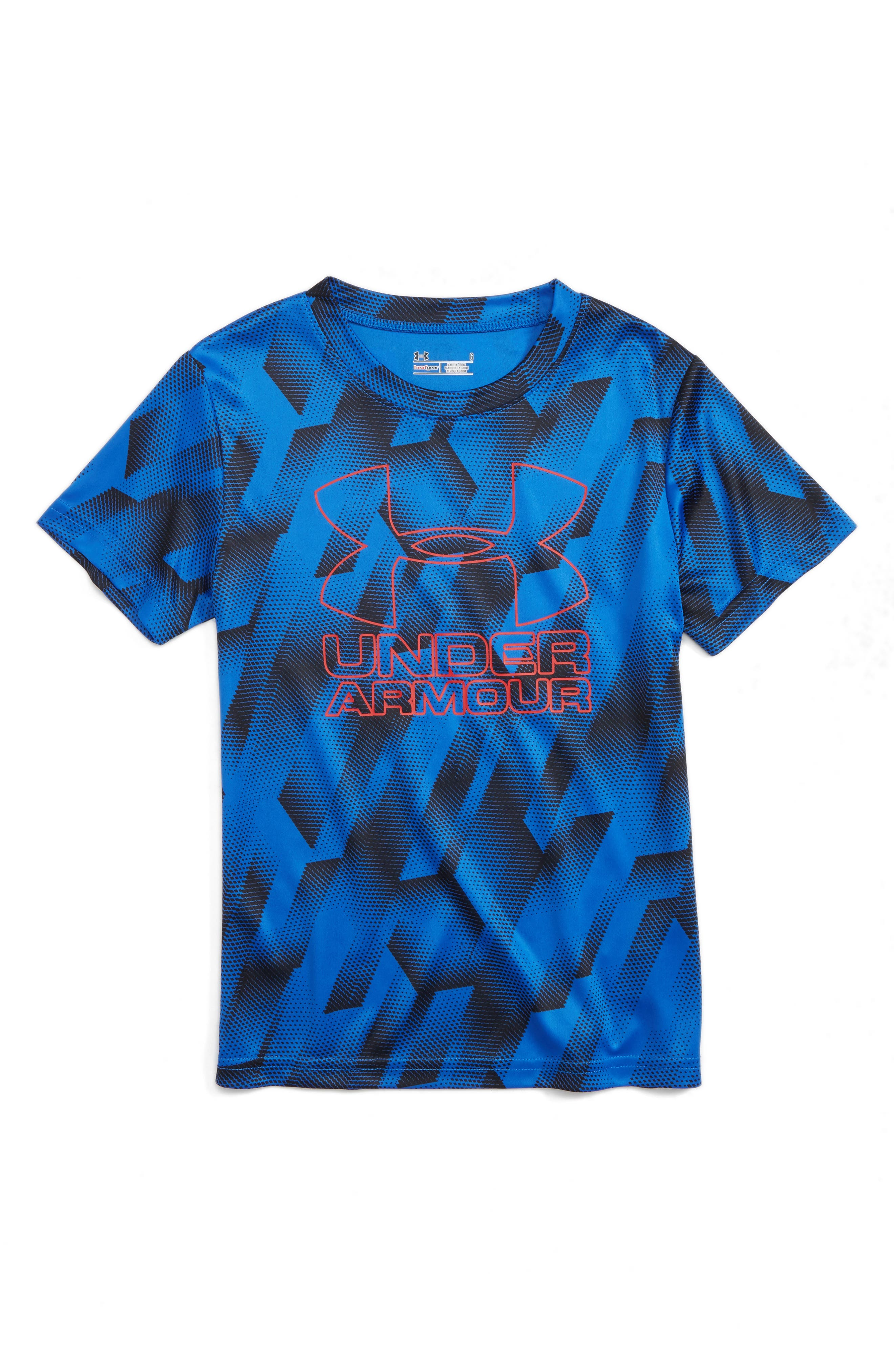 Under Armour Sandstorm HeatGear® Logo Shirt (Toddler Boys & Little Boys)