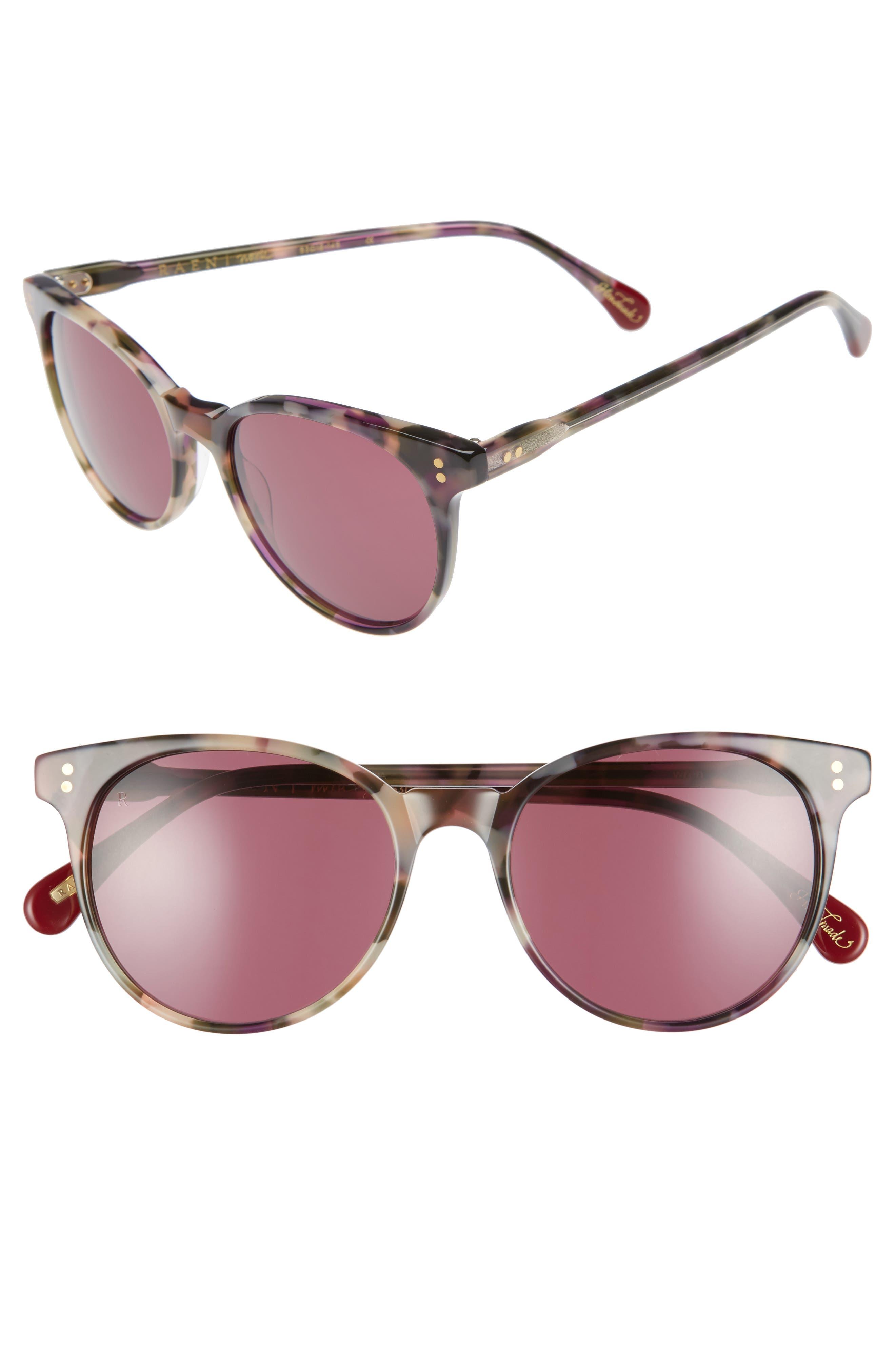 RAEN Norie 52mm Gradient Lens Cat Eye Sunglasses