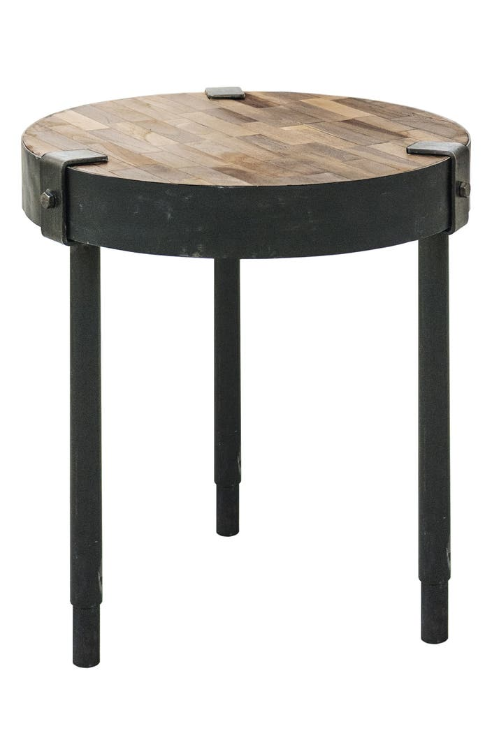 Renwil seebach metal wood accent table nordstrom