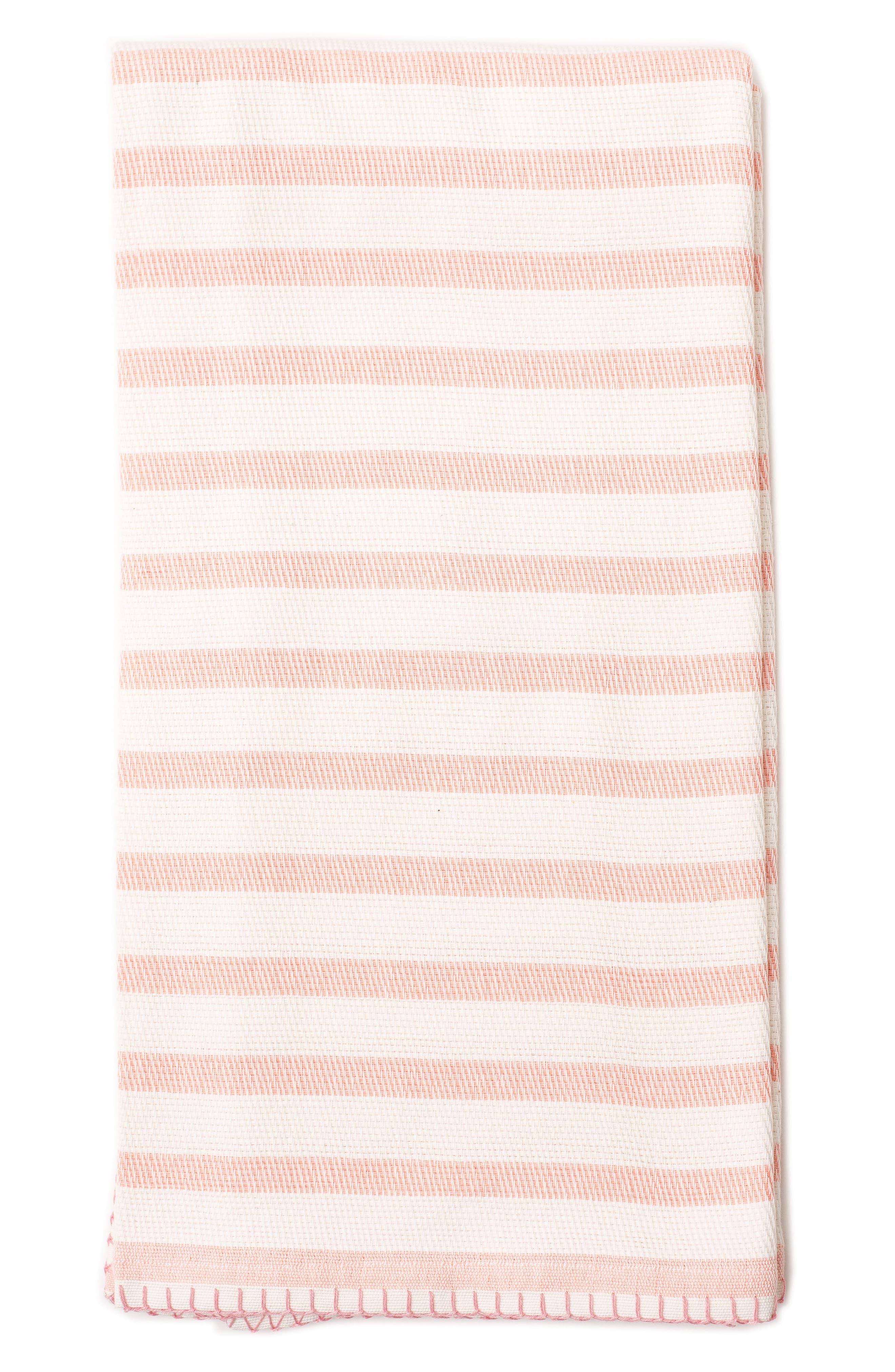 Lil Lemon by zestt Classic Stripe Organic Cotton Blanket