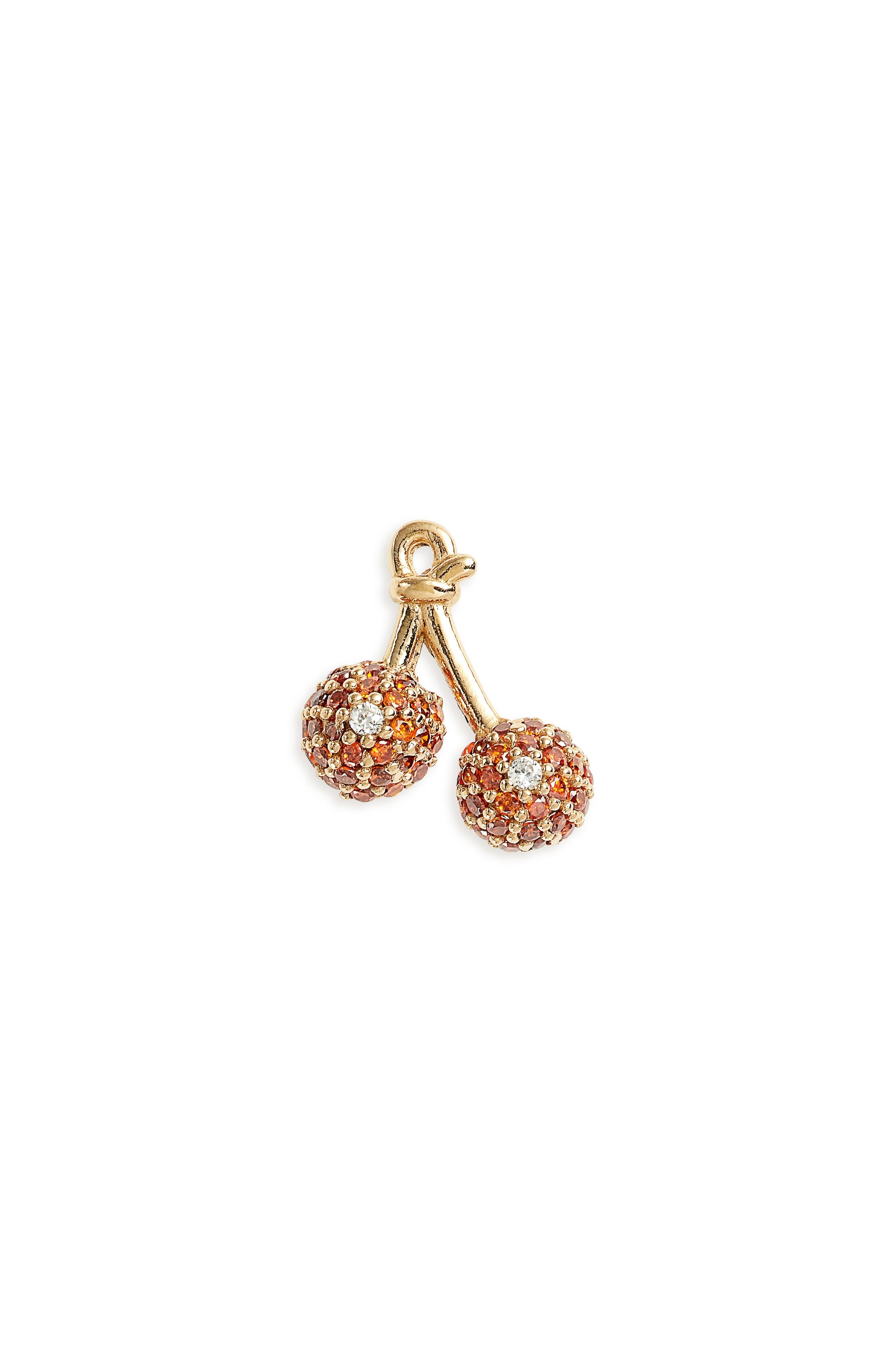 MARC JACOBS Cherry Single Stud Earring
