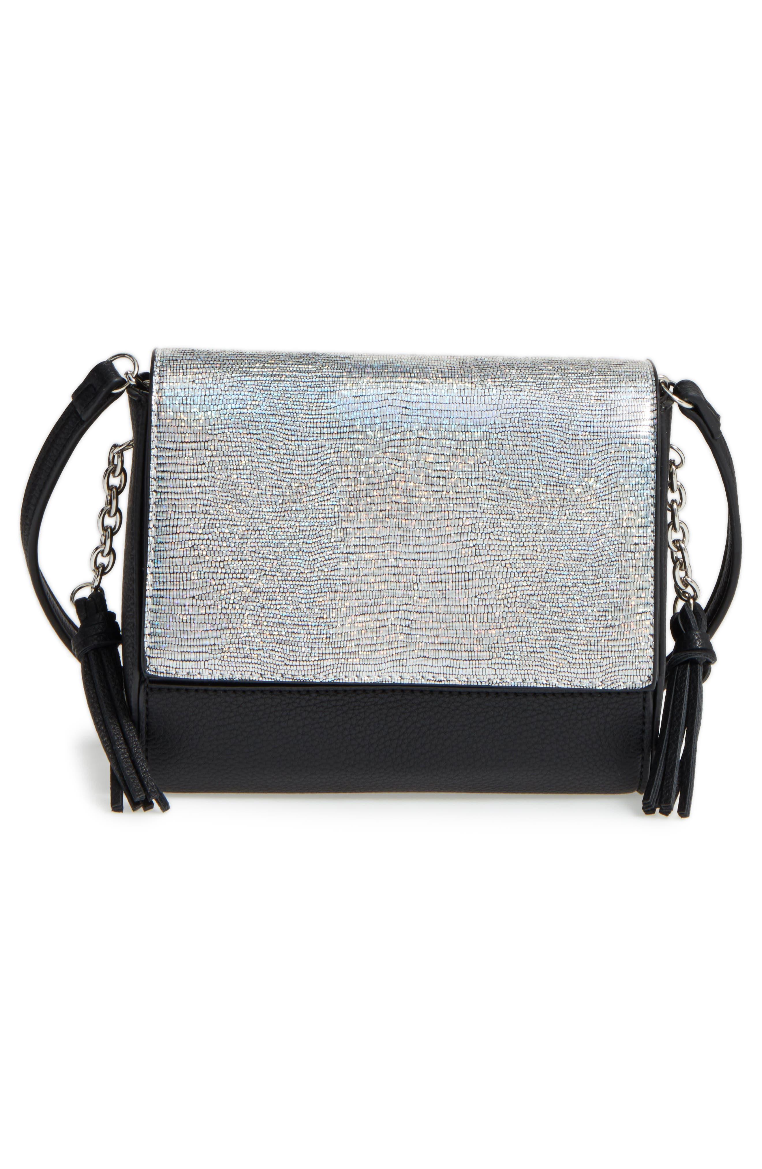 Alternate Image 1 Selected - Street Level Convertible Faux Leather Crossbody Bag