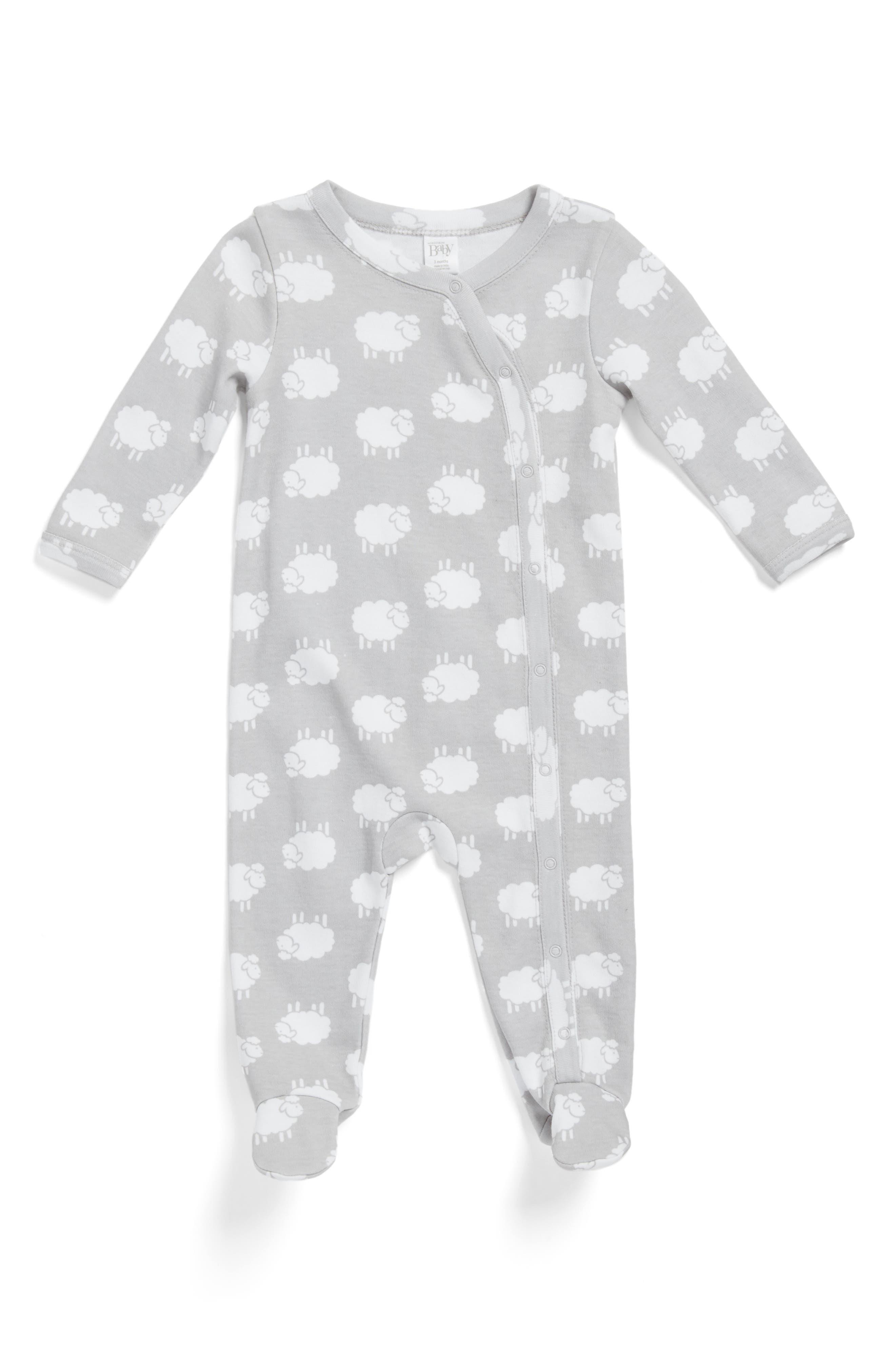 Nordstrom Baby Print Footie (Baby)