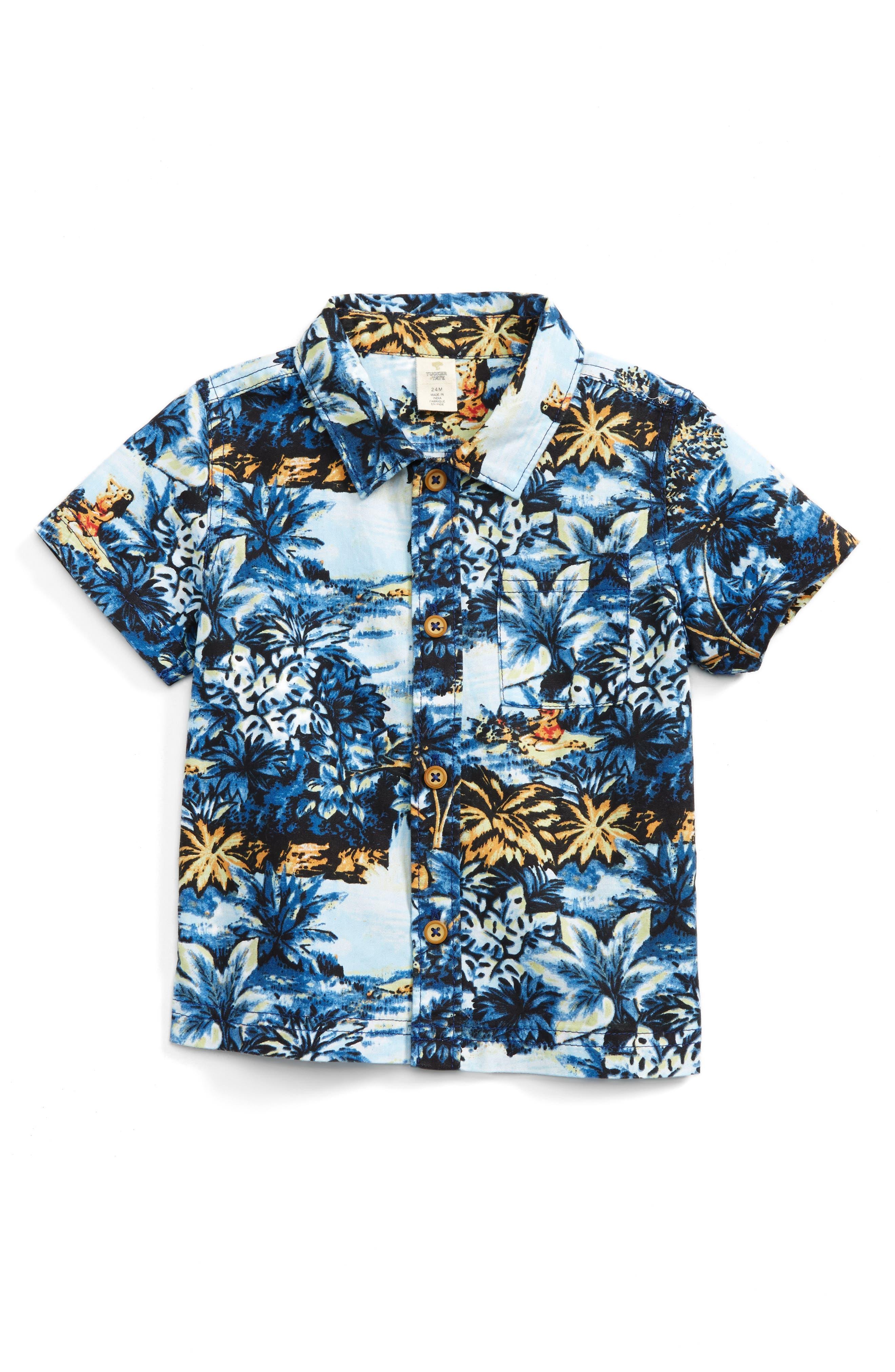 Tucker + Tate Print Woven Shirt (Baby Boys)