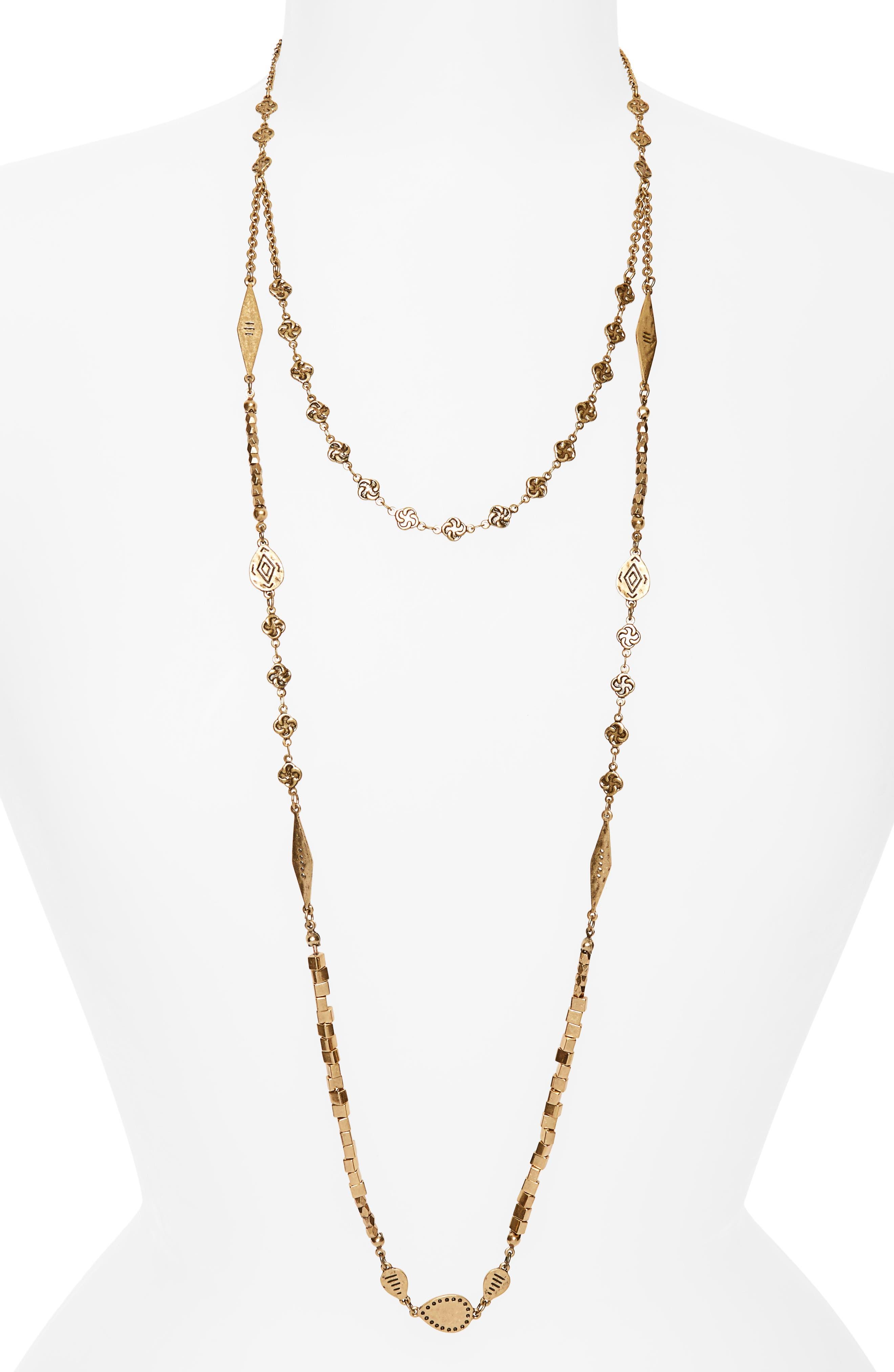 Treasure & Bond Convertible Multistrand Necklace