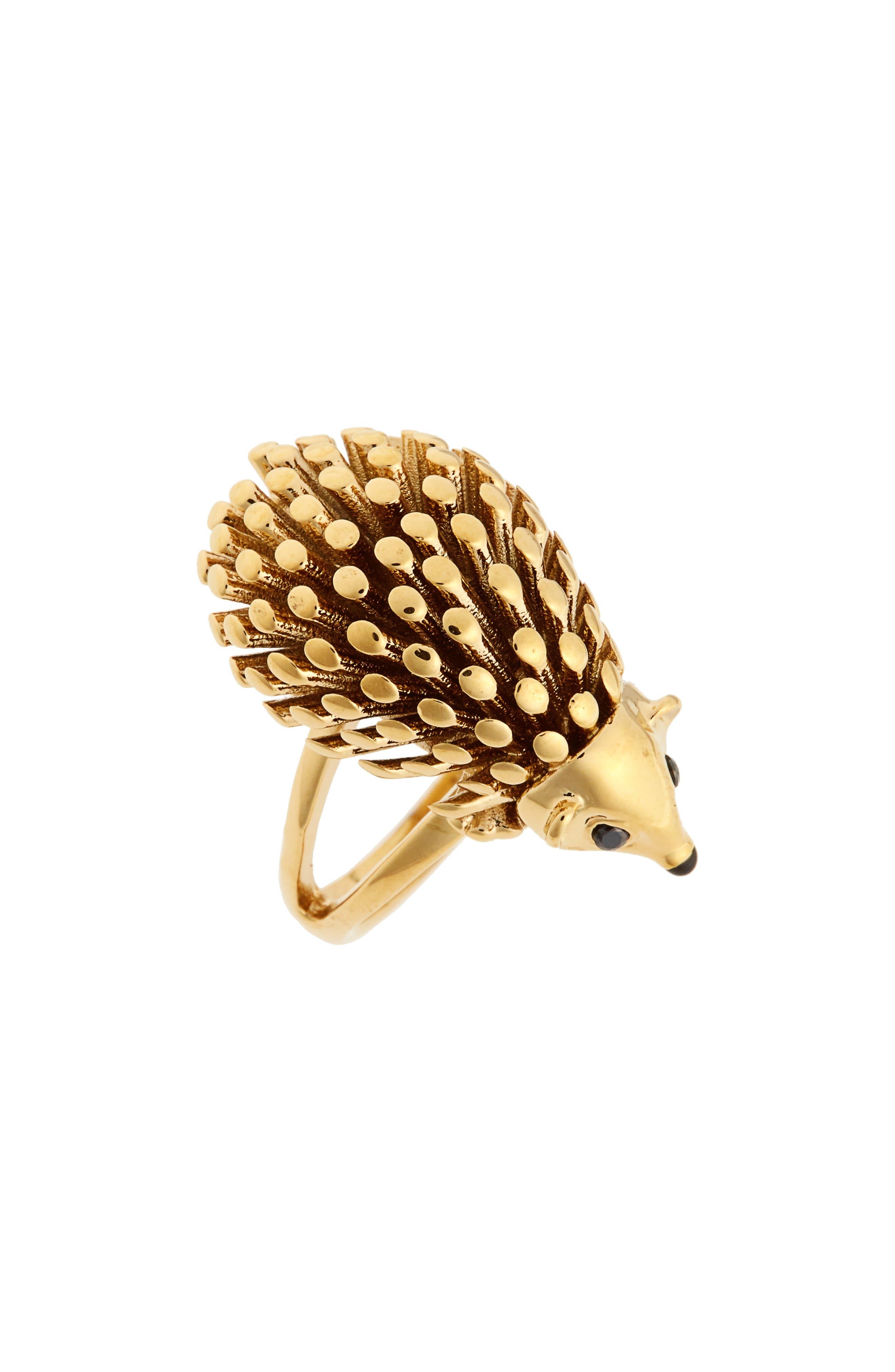 kate spade baja bound porcupine ring
