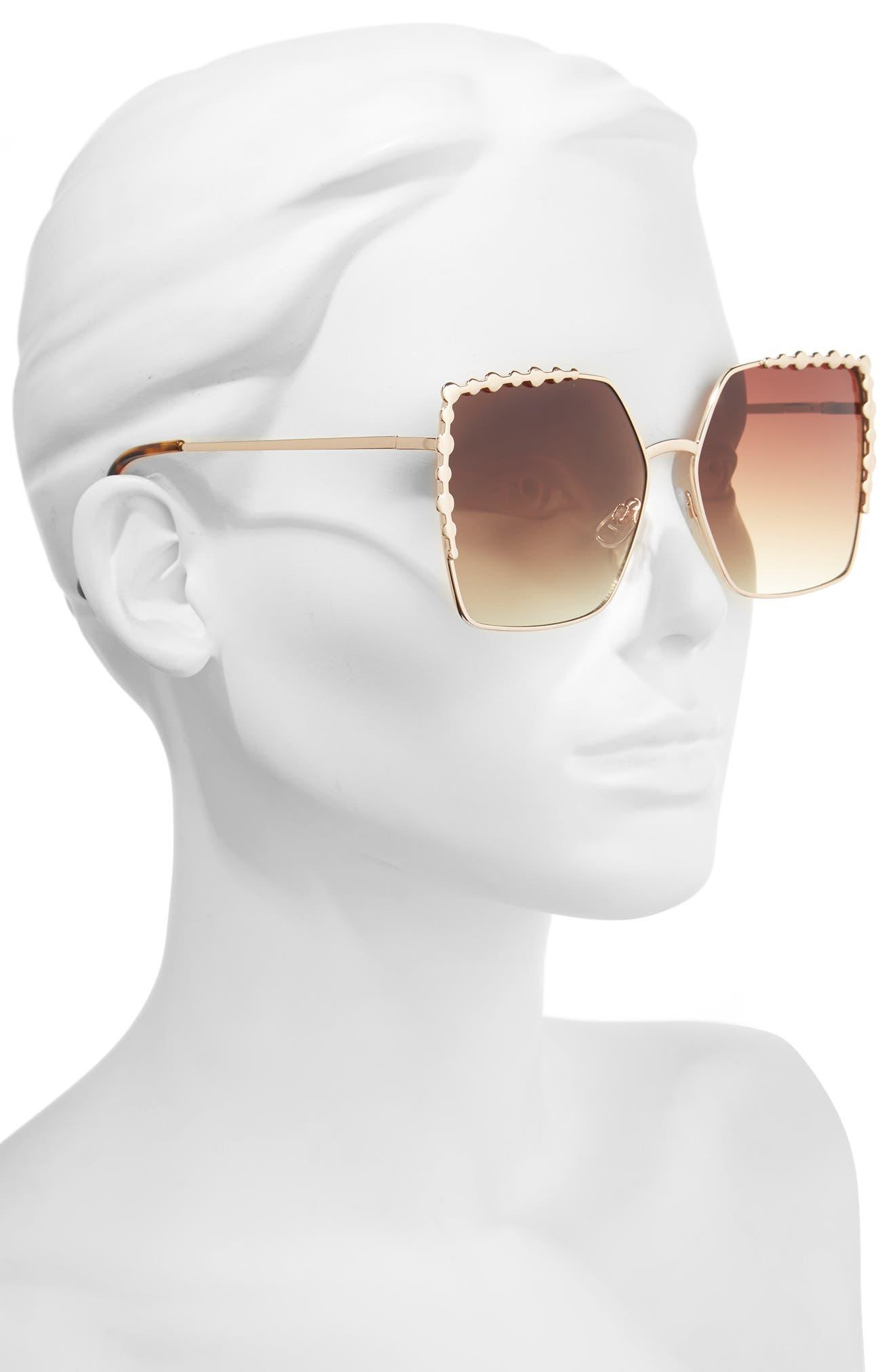 Alternate Image 2  - BP. 60mm Square Sunglasses