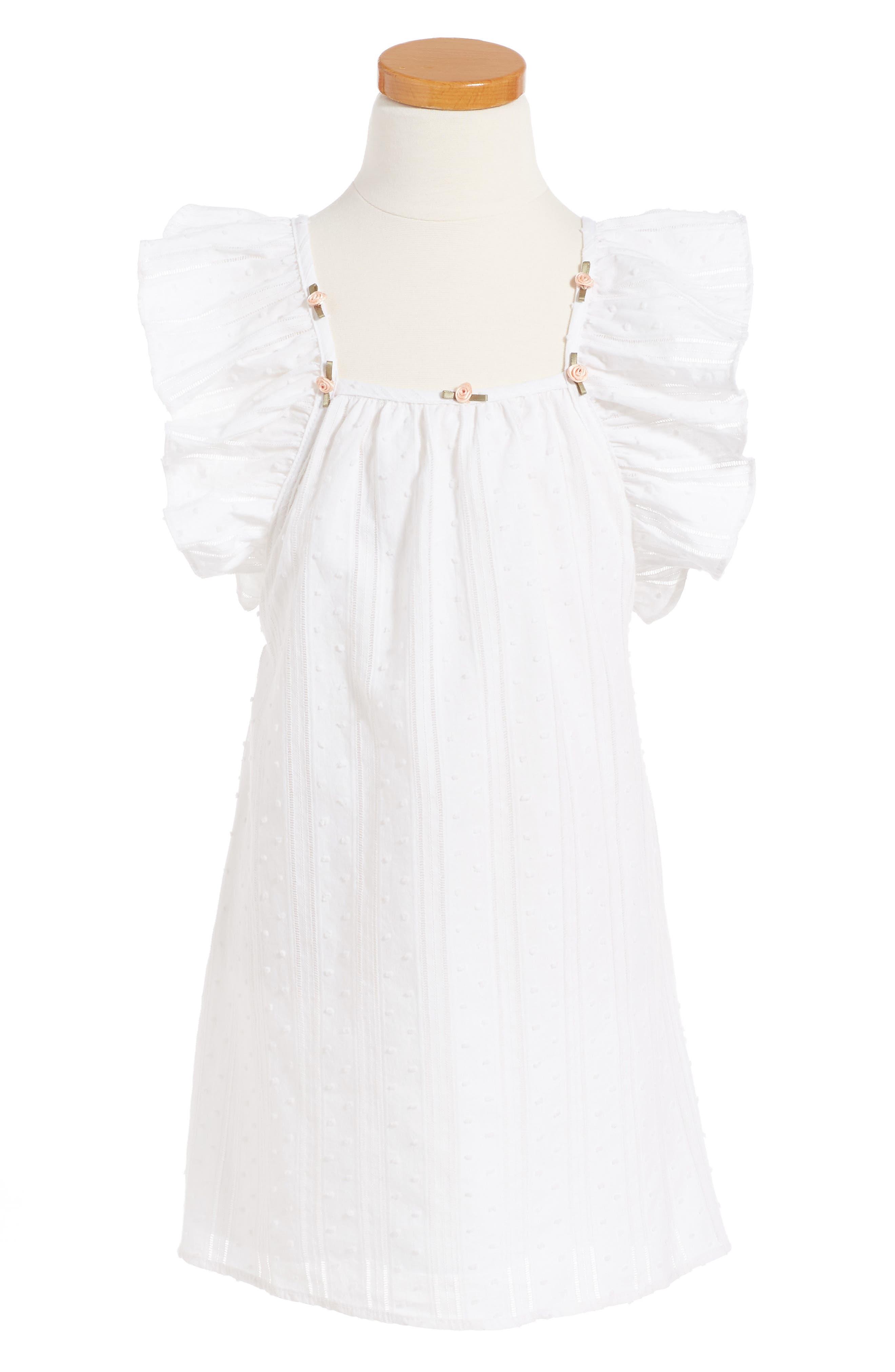 For Love & Lemons Rosette Tank Dress (Toddler Girls & Little Girls)
