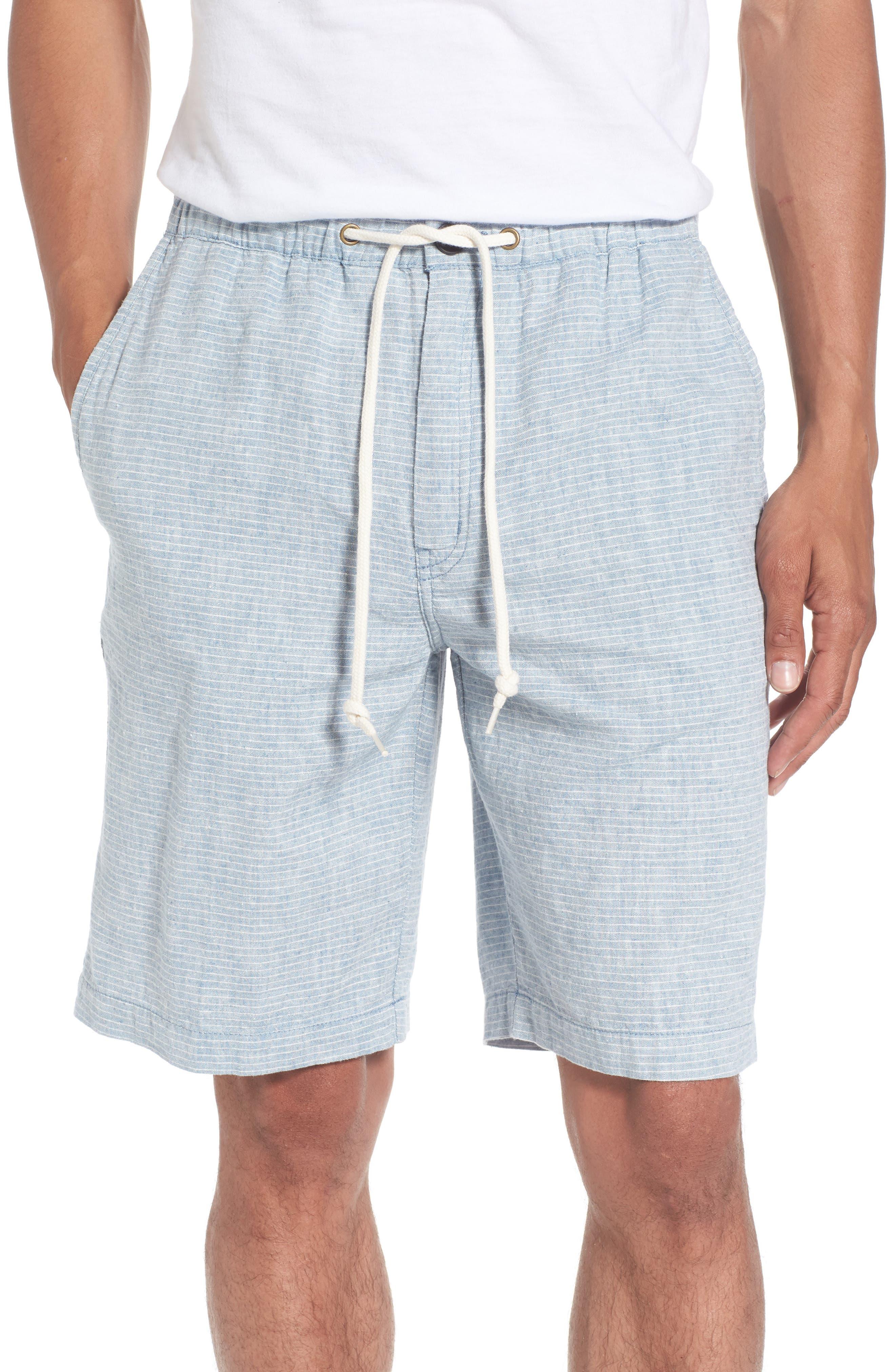 Quiksilver Waterman Collection Bahiadays Linen Blend Shorts