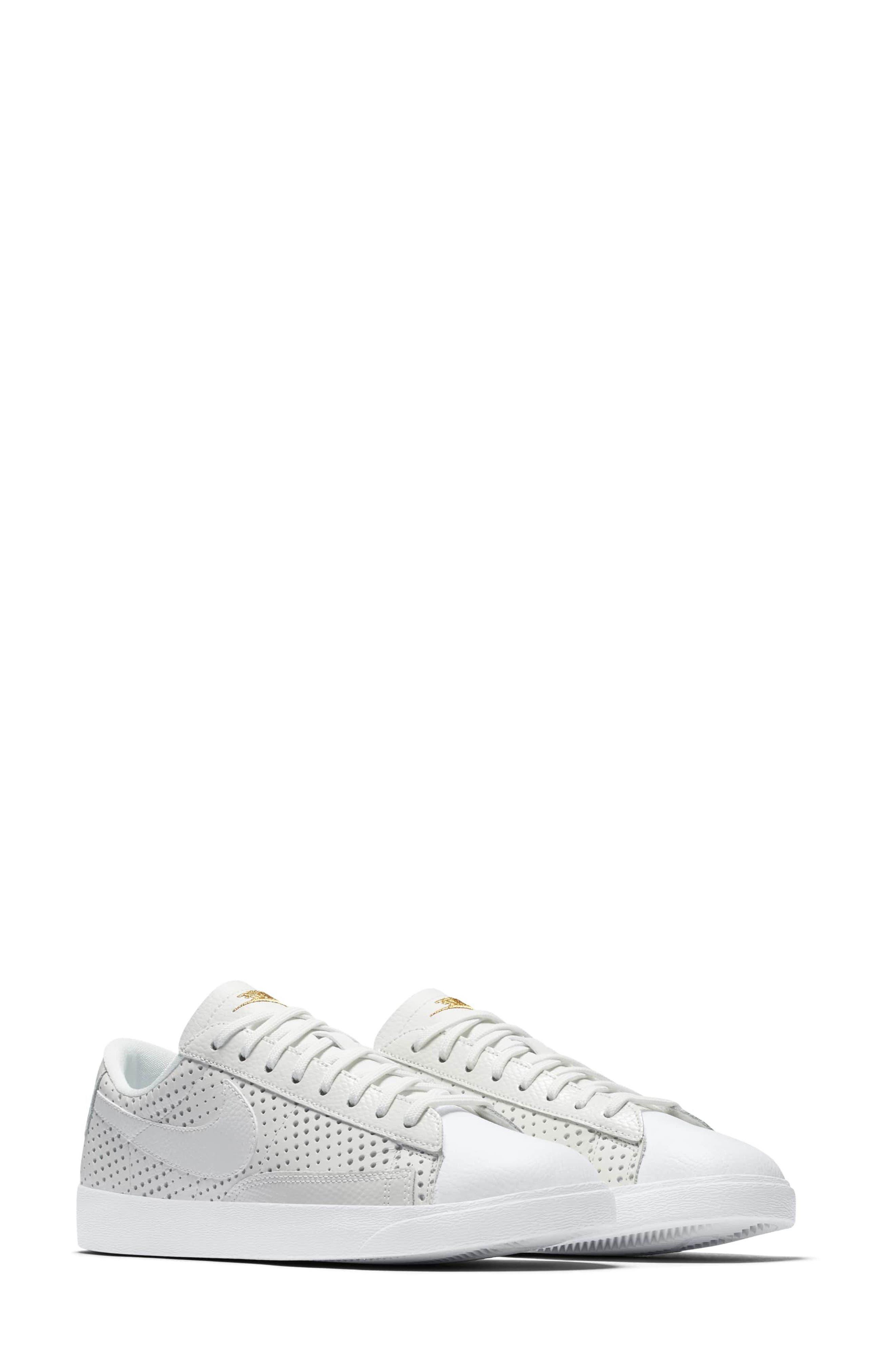 Alternate Image 2  - Nike Blazer Low Top Sneaker SE (Women)
