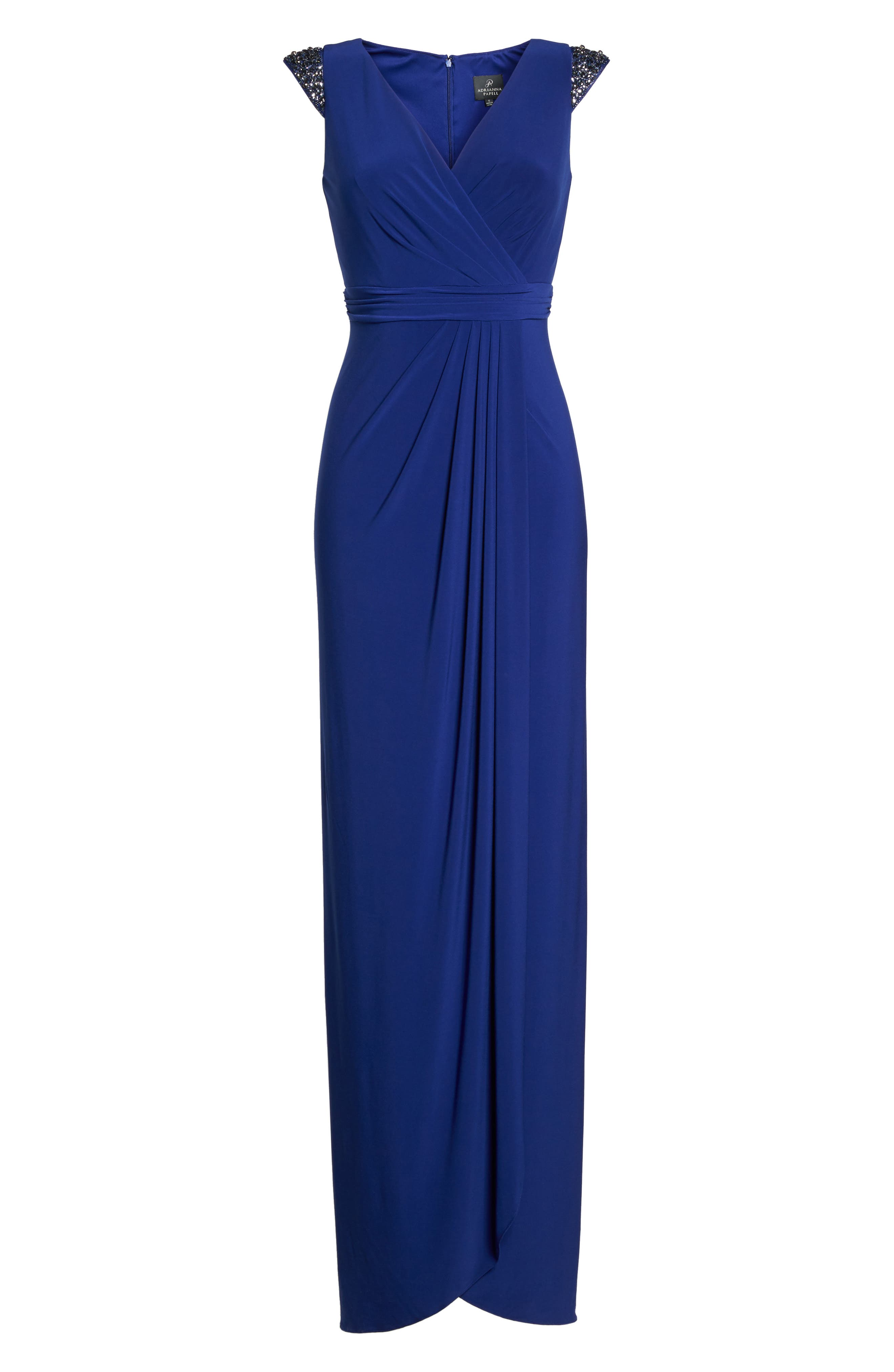 Alternate Image 6  - Adrianna Papell Jersey Gown