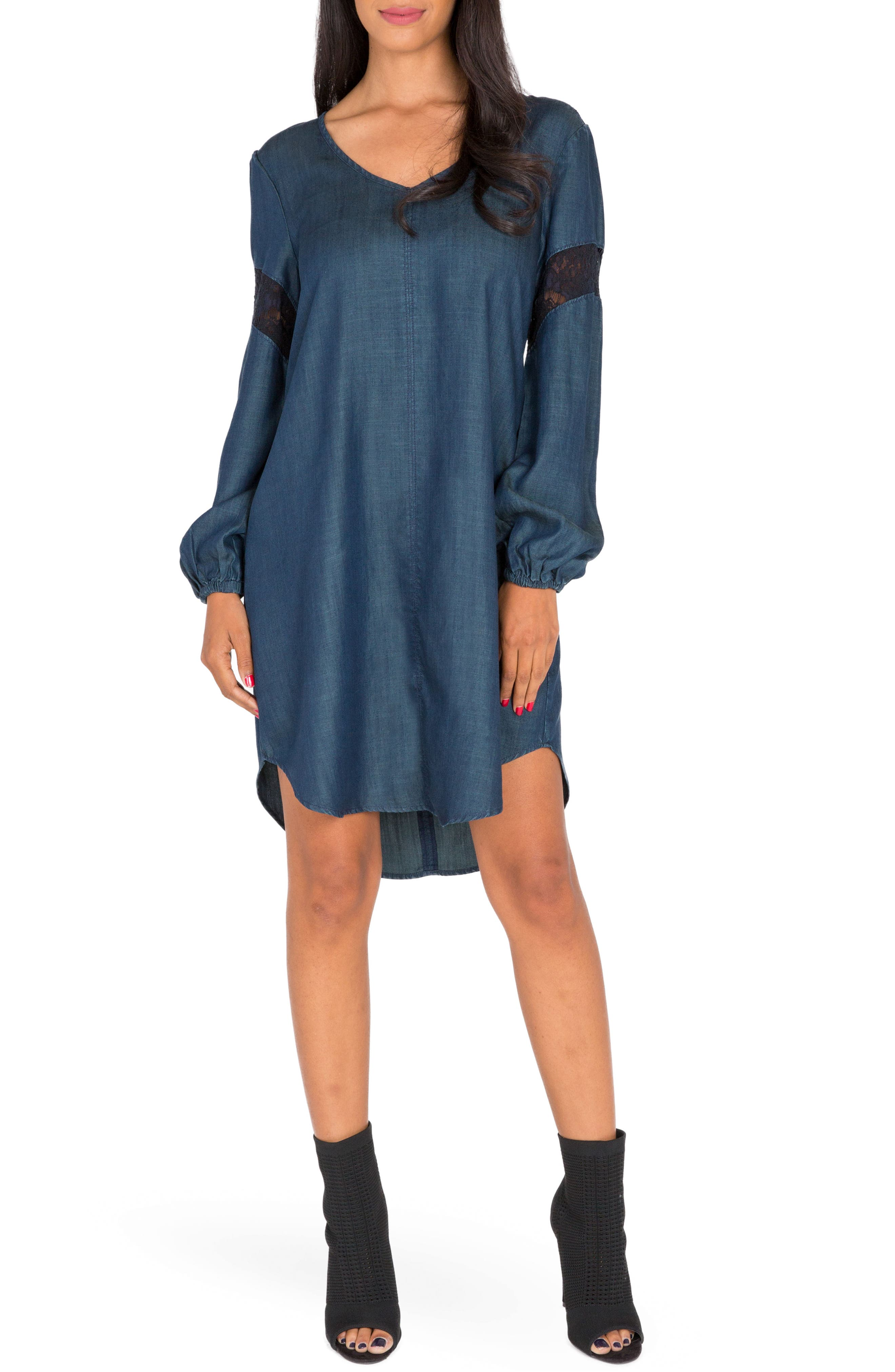 Standards & Practices Shelby Chambray Shift Dress