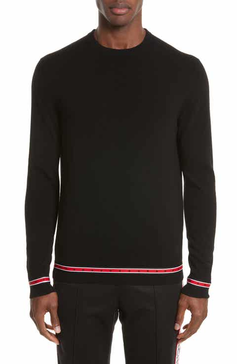 Givenchy Iconic Canvas Trim Sweater
