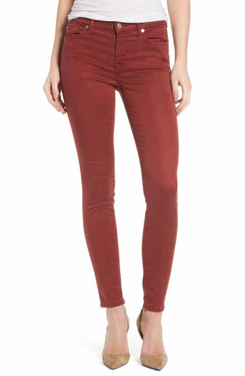 Red Jeans & Denim for Women: Skinny, Boyfriend & More | Nordstrom