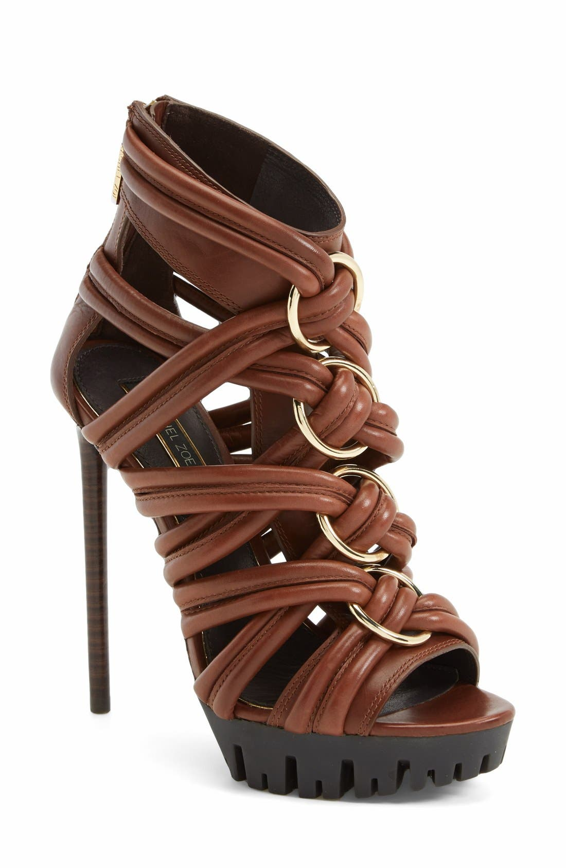 Main Image - Rachel Zoe 'Harlin' Leather Sandal (Women)