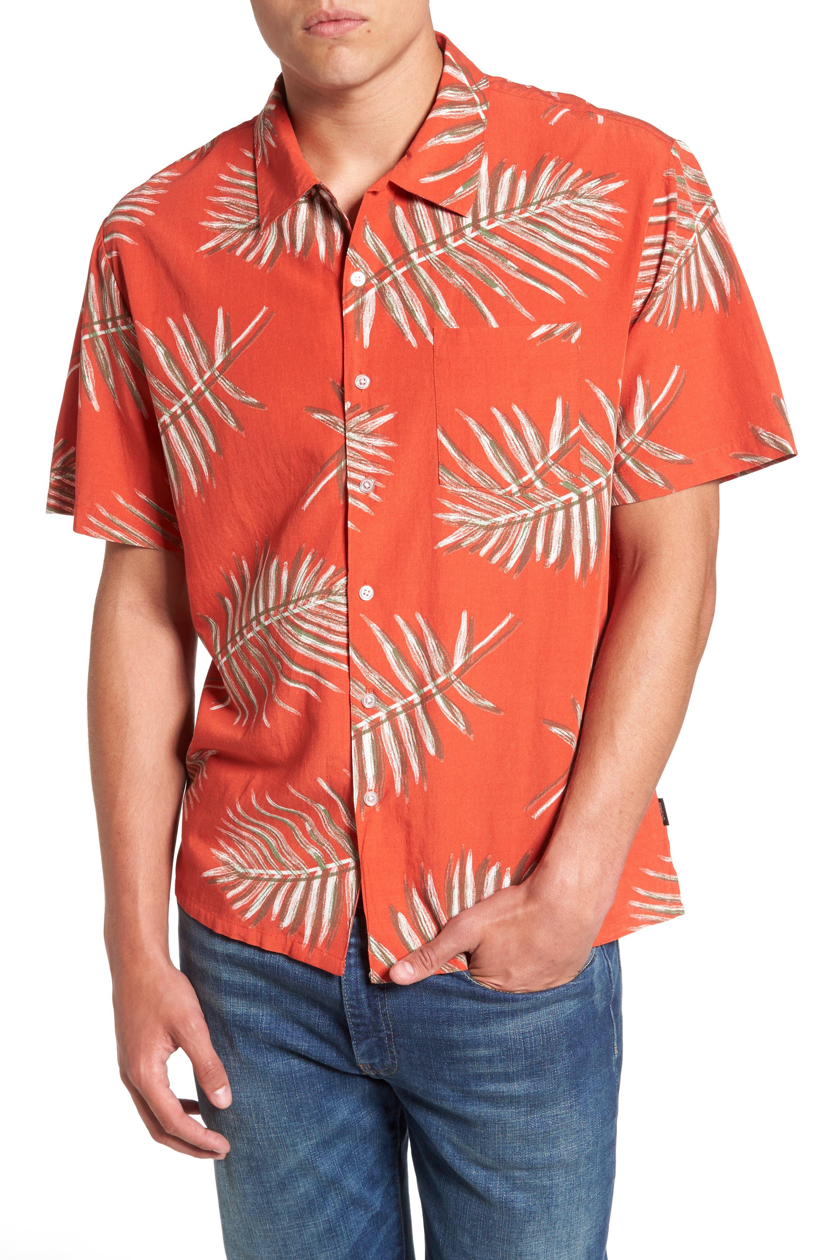 Brixton Lovitz Floral Woven Shirt