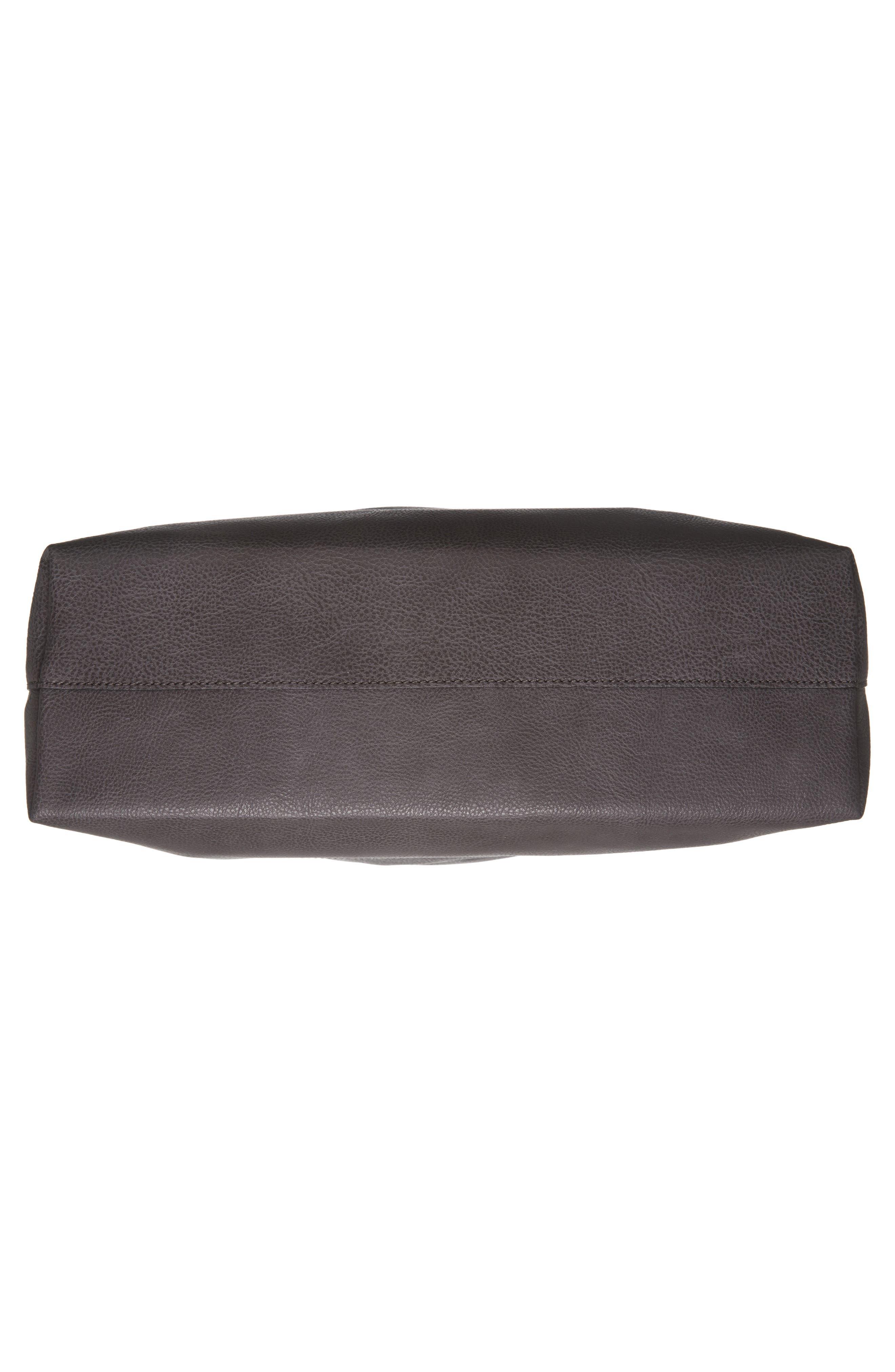 Alternate Image 5  - Sole Society Dawson Oversize Faux Leather Shopper