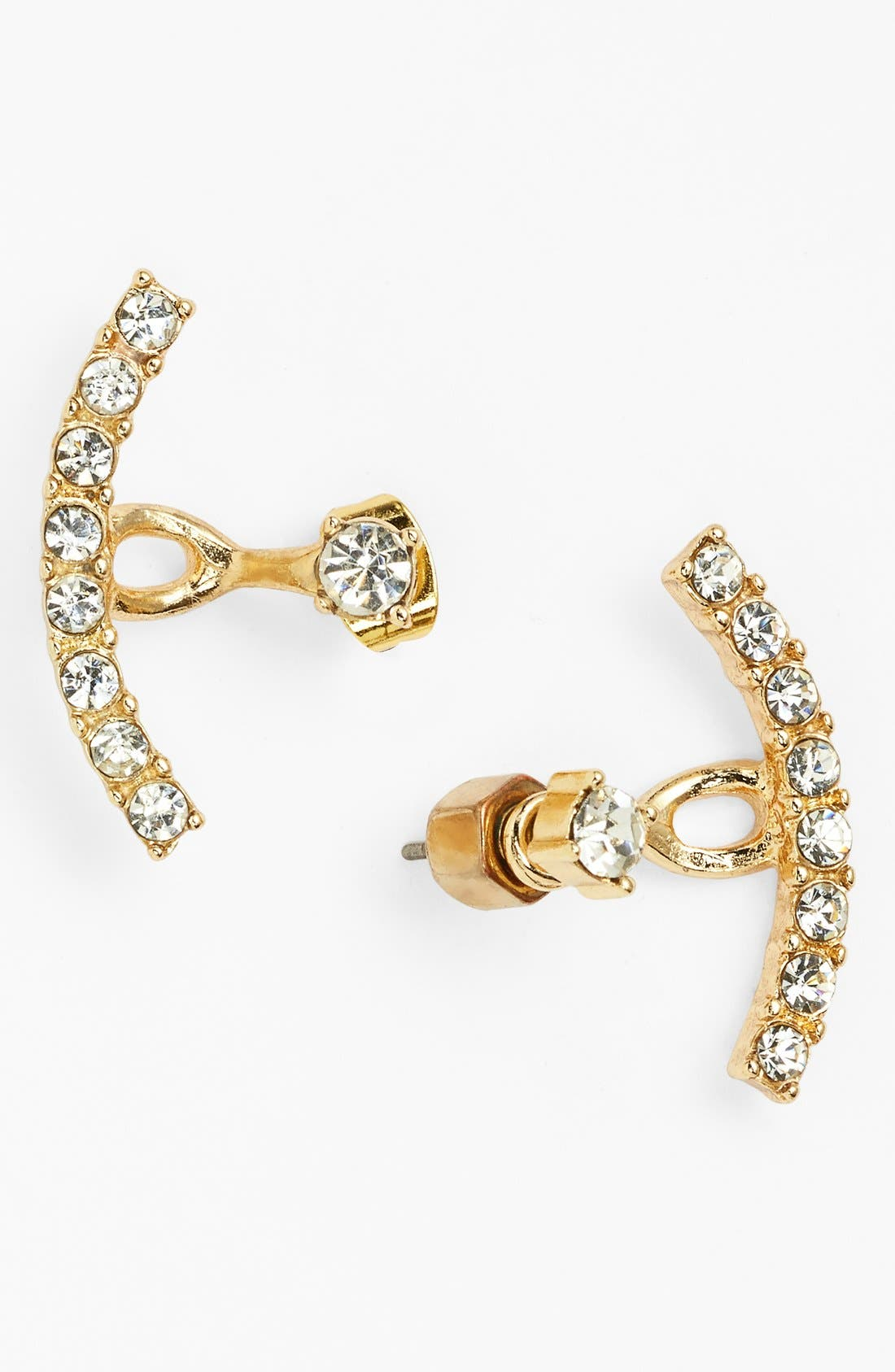 Main Image - BP. Crystal Ear Cuffs