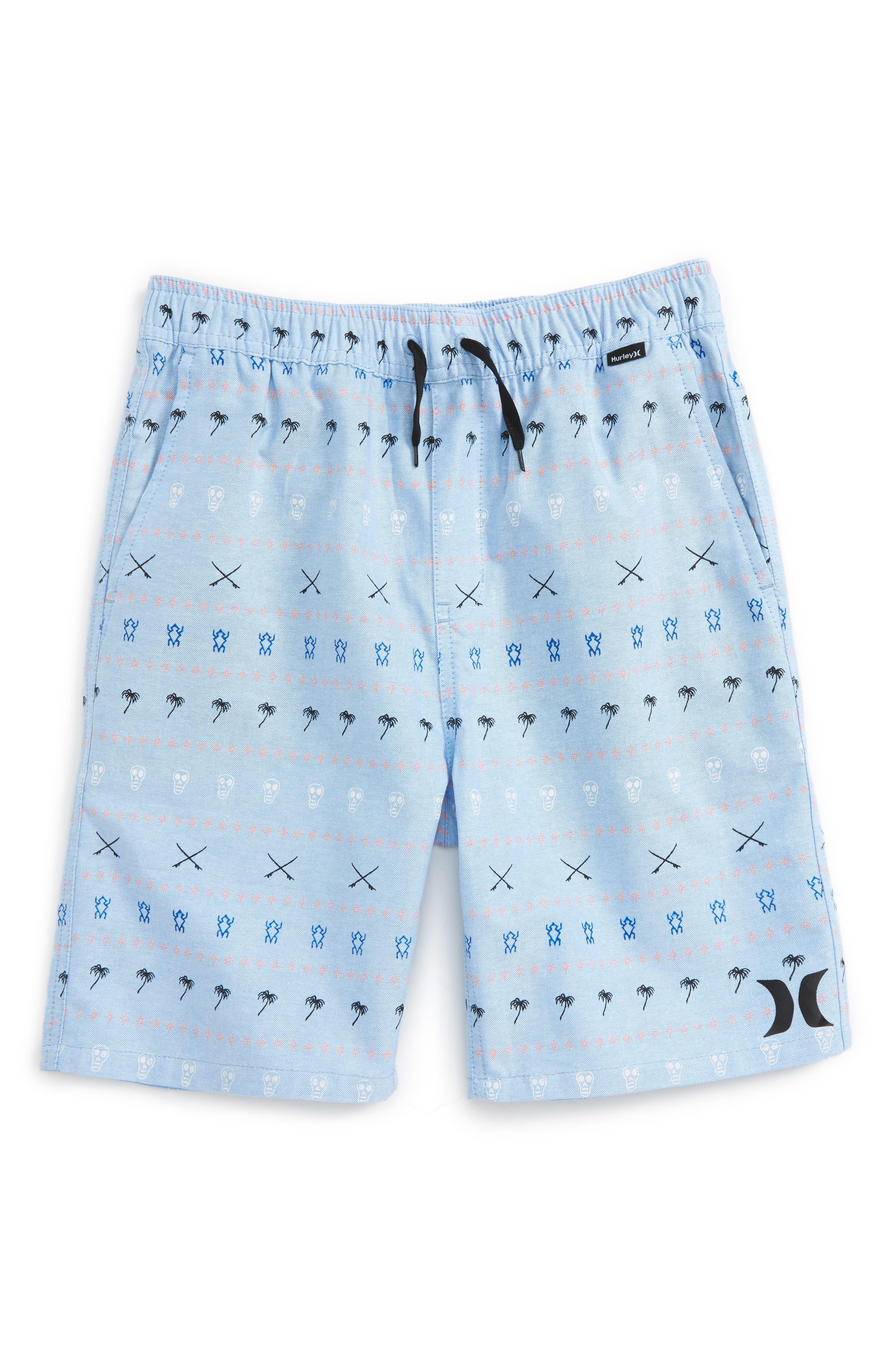 Hurley Print Shorts (Big Boys)
