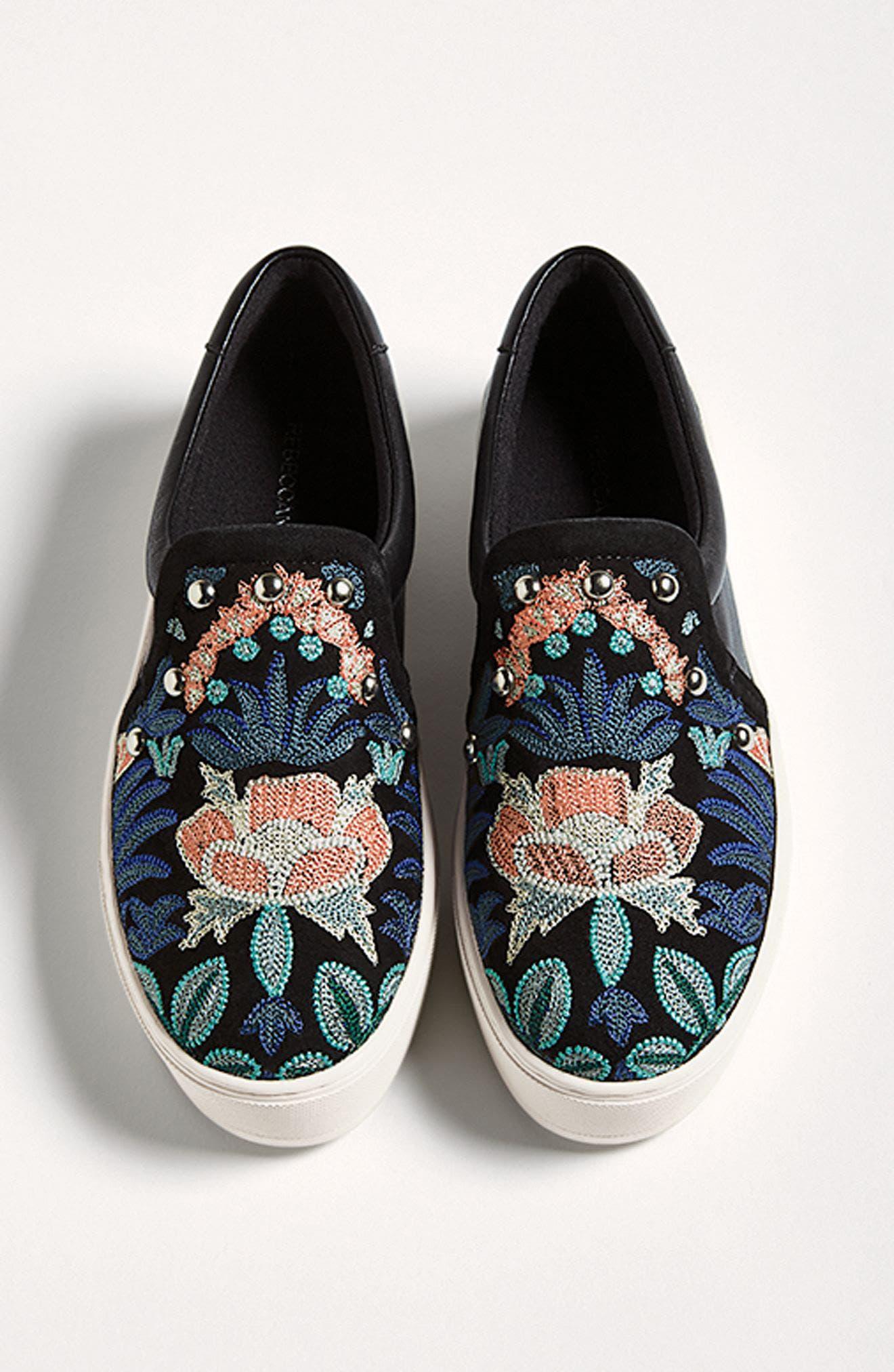 Alternate Image 8  - Rebecca Minkoff Noelle Embellished Slip-On Platform Sneaker (Women)