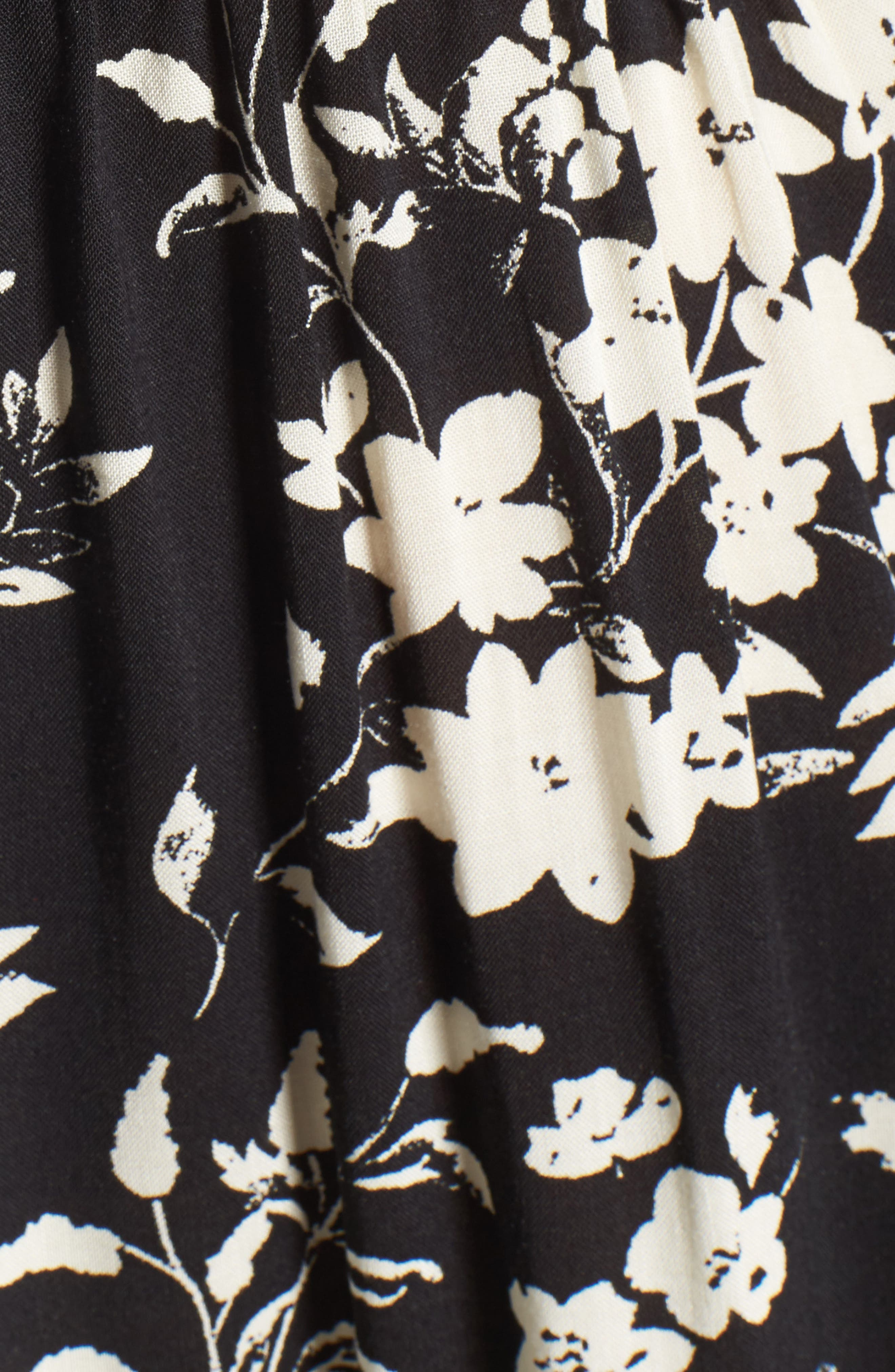 Alternate Image 5  - Mimi Chica Smocked Floral Jumpsuit