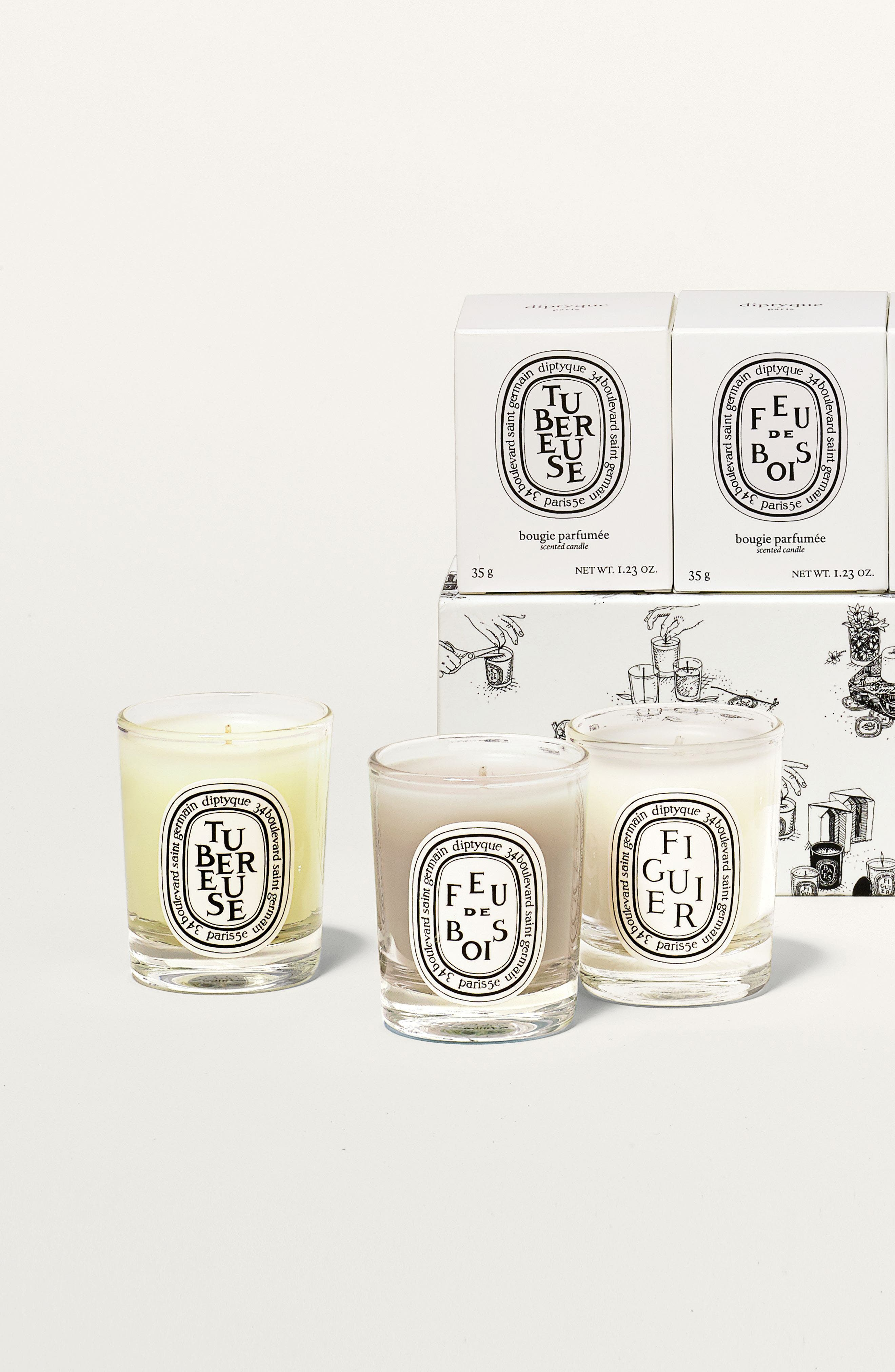 Alternate Image 3  - diptyque Scented Candle Set ($75 Value)