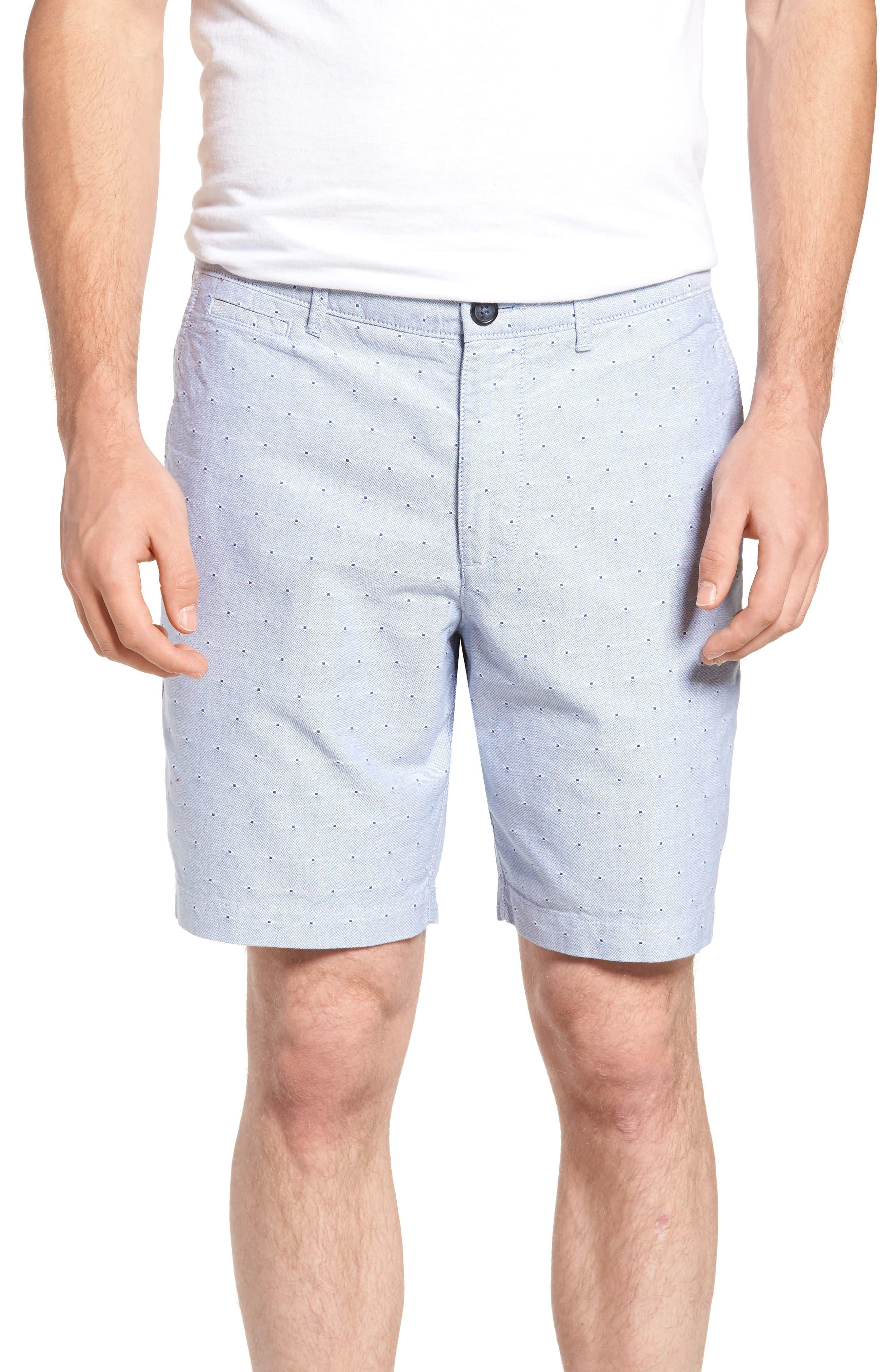 Original Penguin Dobby Dot Slim Fit Oxford Shorts