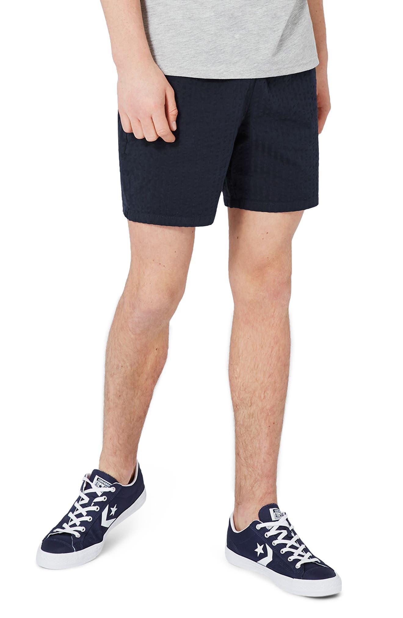 Topman Seersucker Shorts