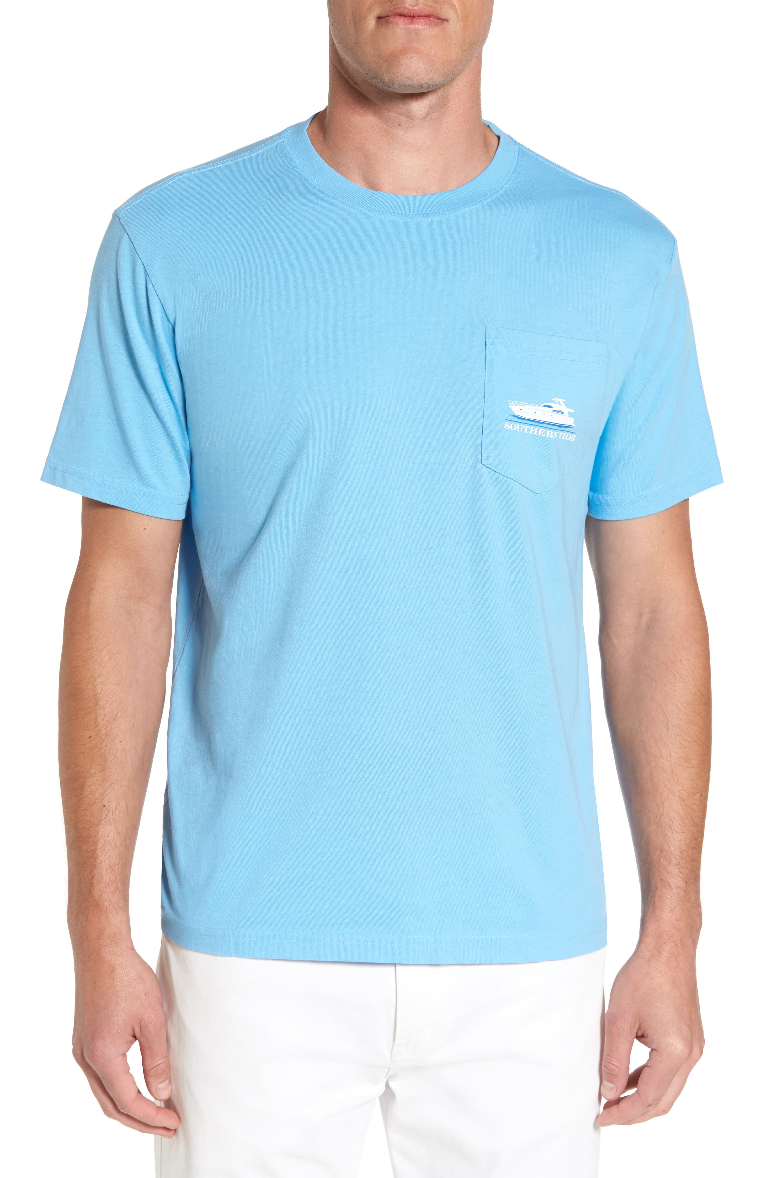 Southern Tide Yacht Week Graphic Pocket T-Shirt