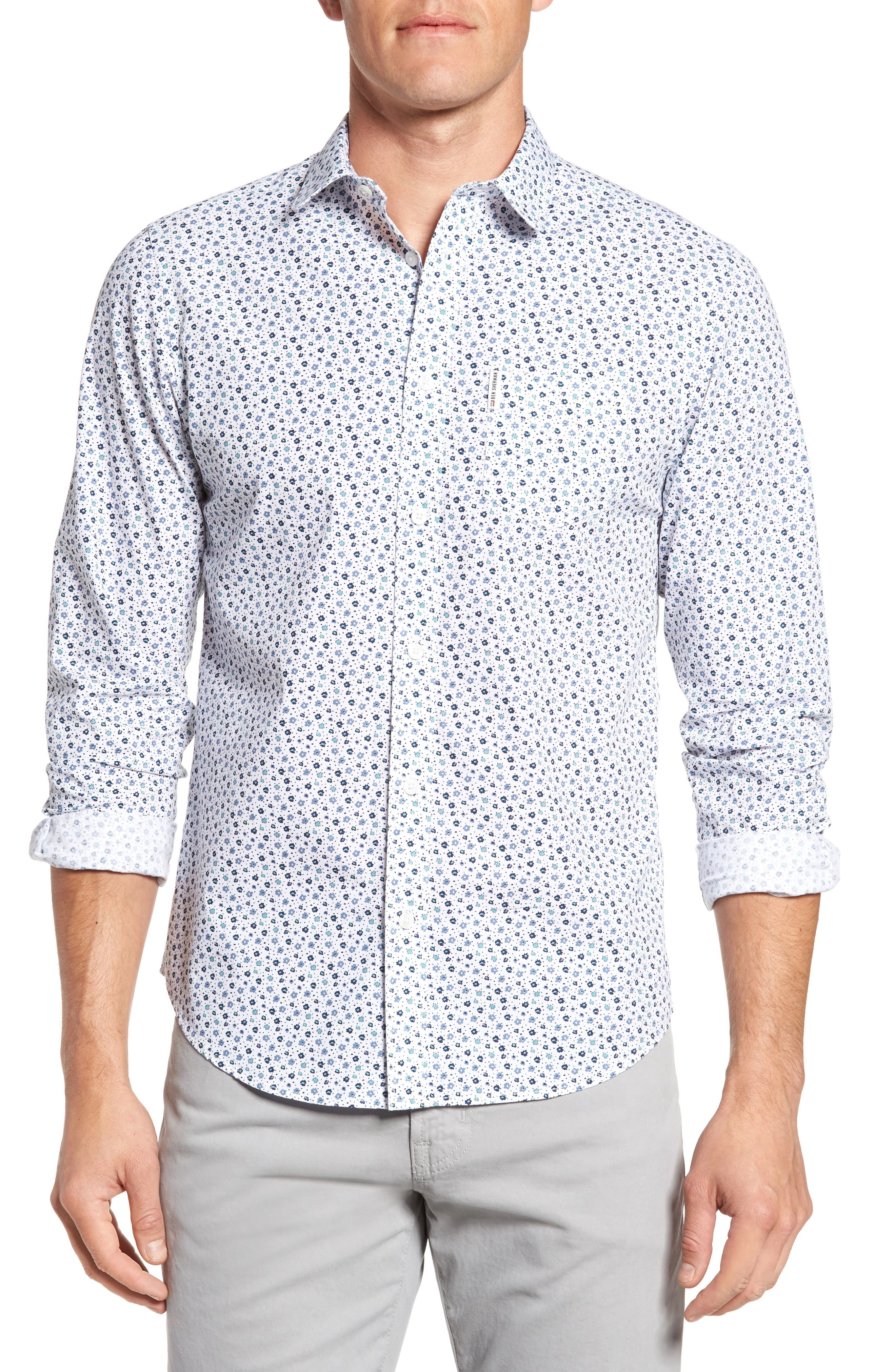 Ben Sherman Floral Print Shirt