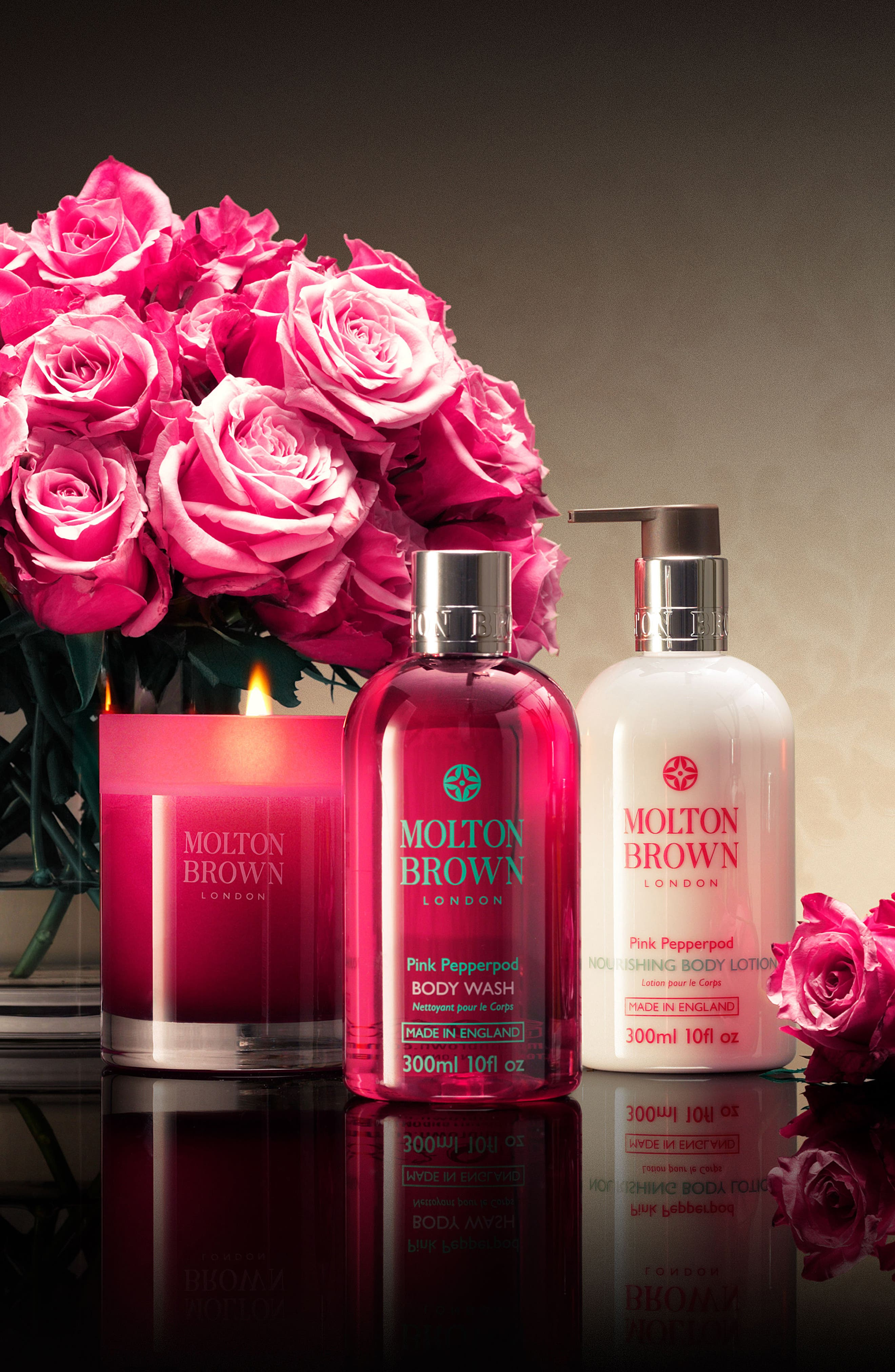 MOLTON BROWN London Pink Pepperpod Collection