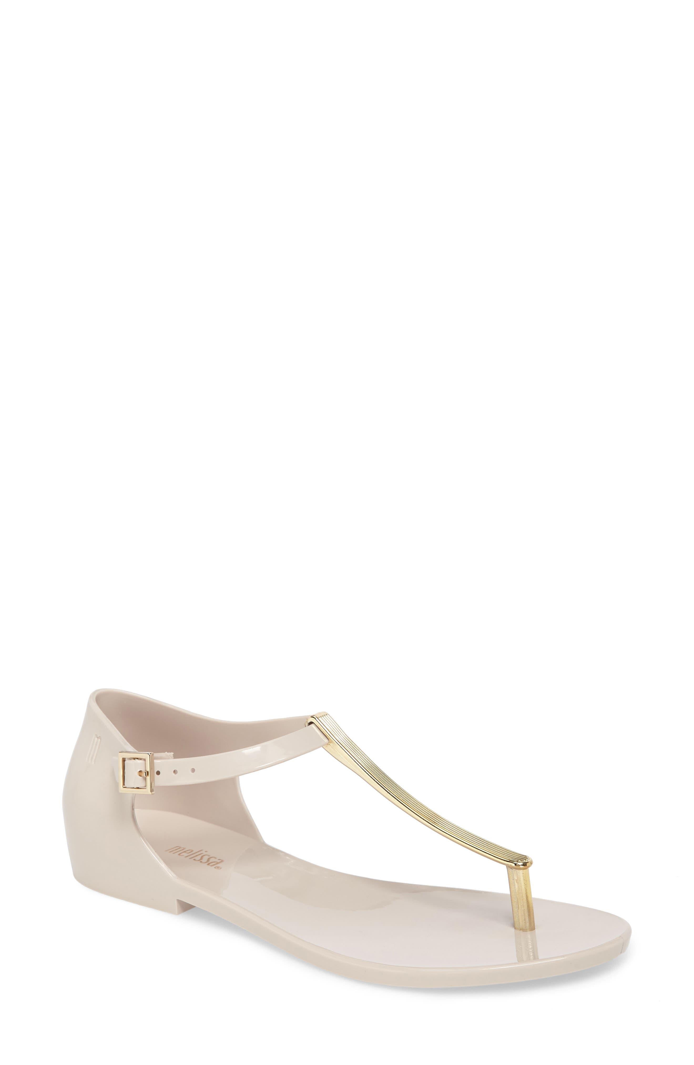 Melissa Honey Chrome Thong Sandal (Women)