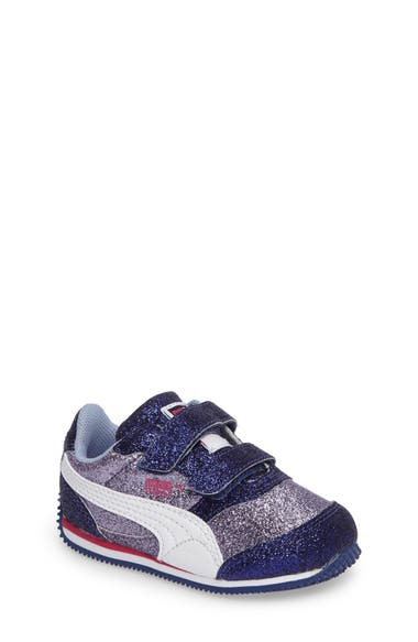 PUMA Steeple Glitz Glam Sneaker (Baby, Walker & Toddler)