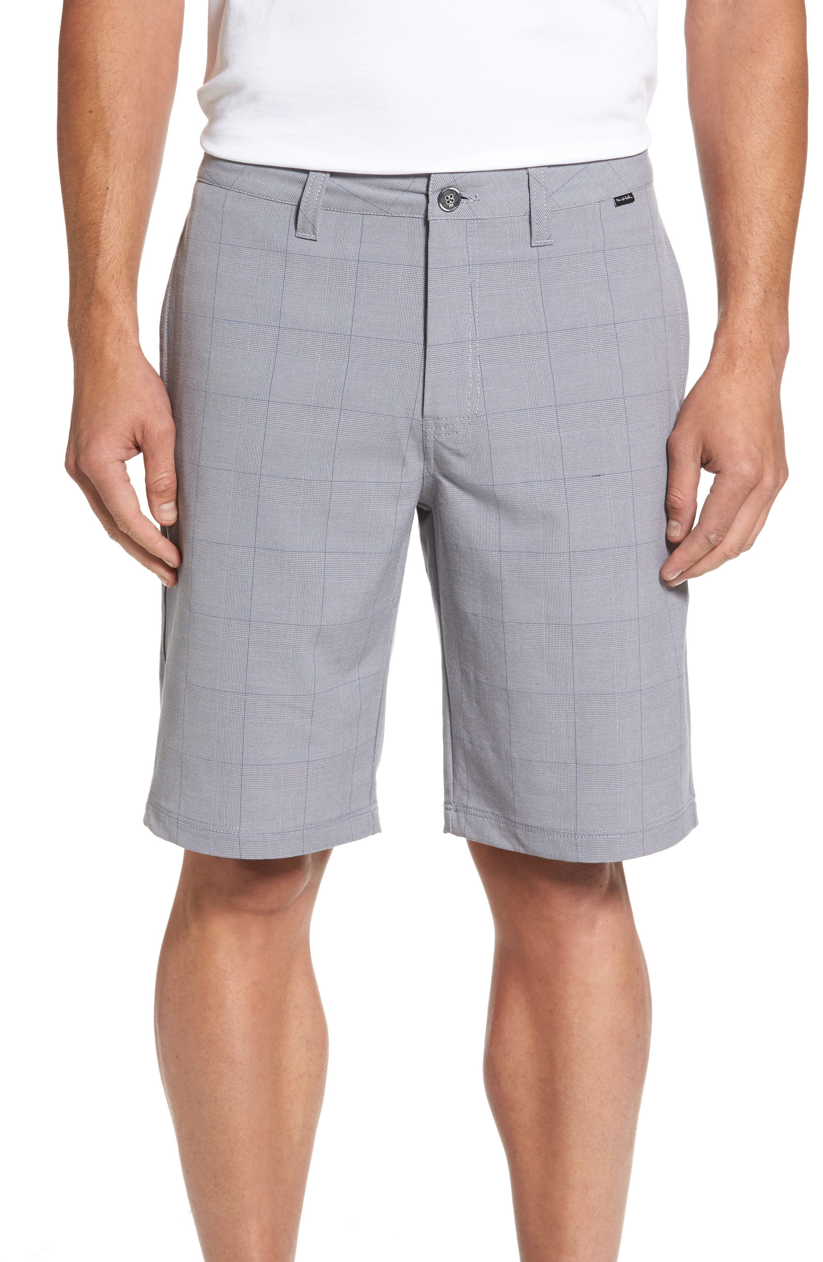 Travis Mathew Decero Check Performance Shorts