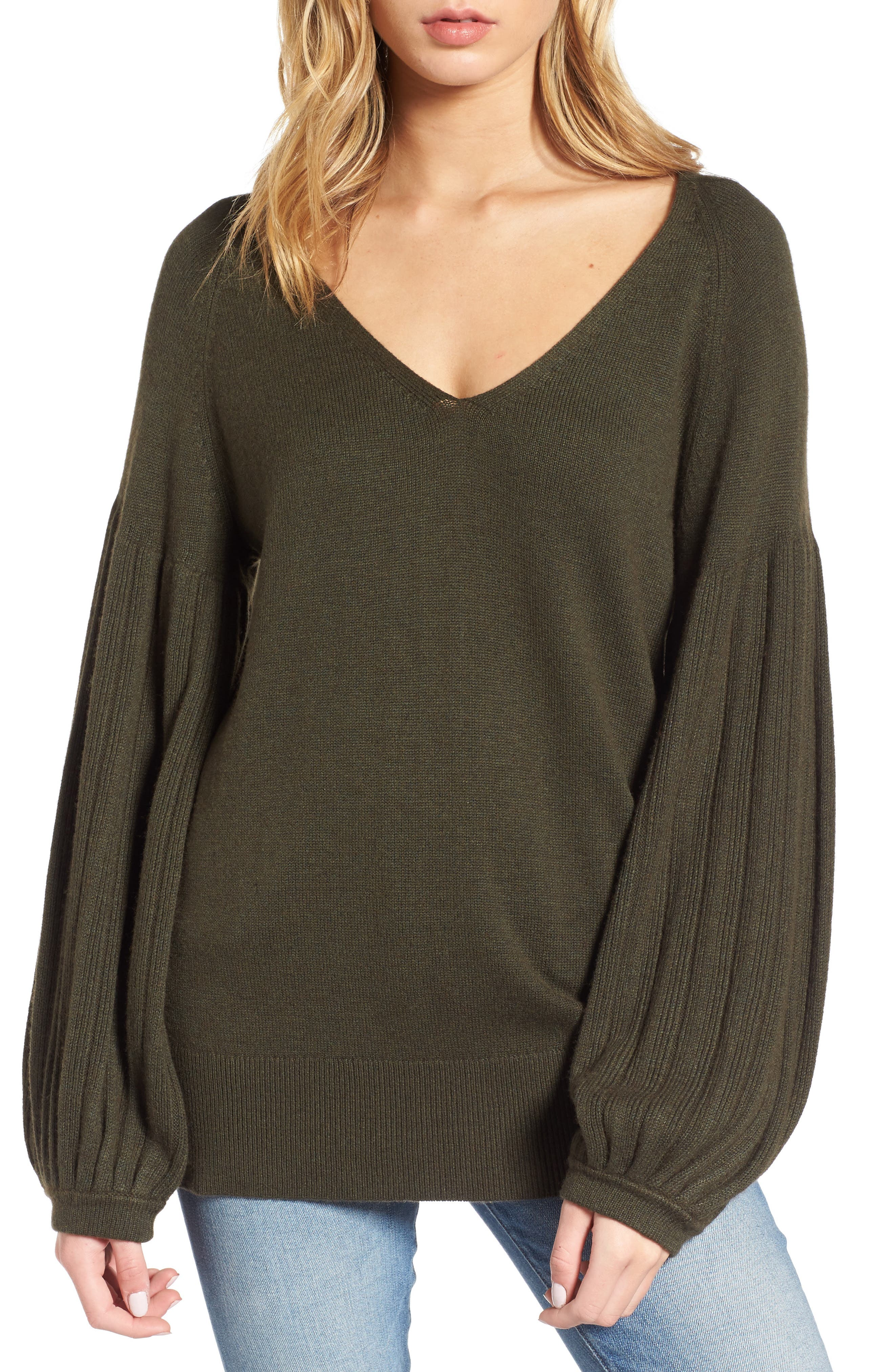 Ella Moss Francesca V-Neck Sweater