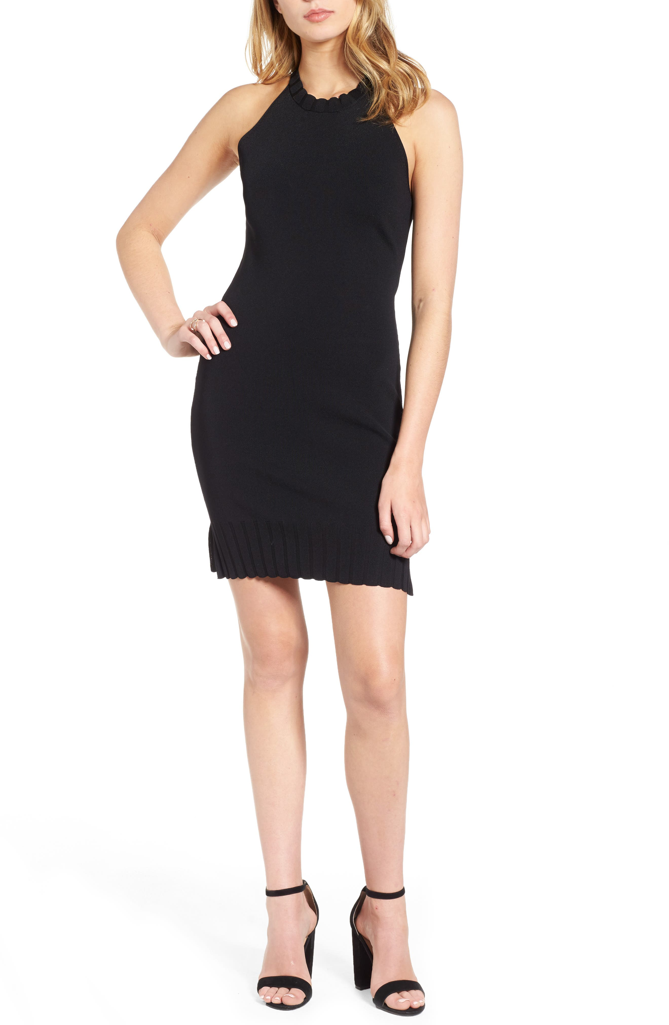 4SI3NNA Halter Body-Con Dress