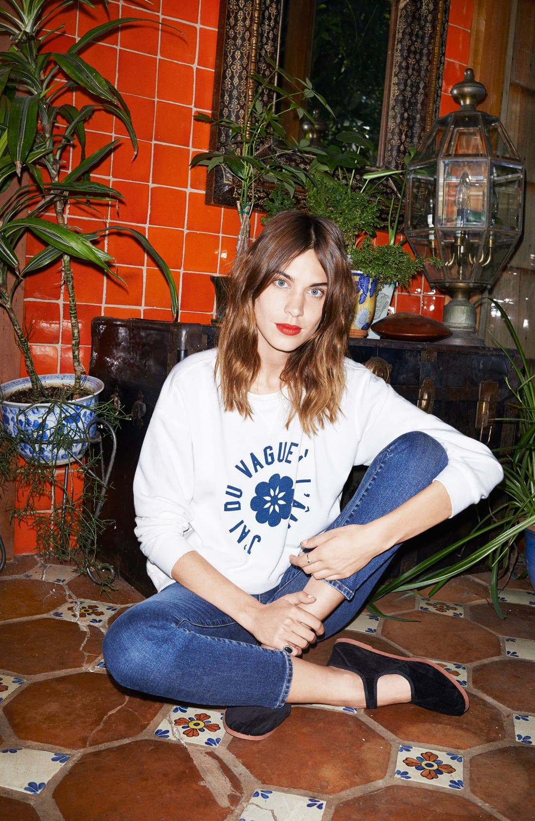 Alternate Image 4  - Alexa Chung for AG 'The Legging' Ankle Jeans (11 Year Dreamer)