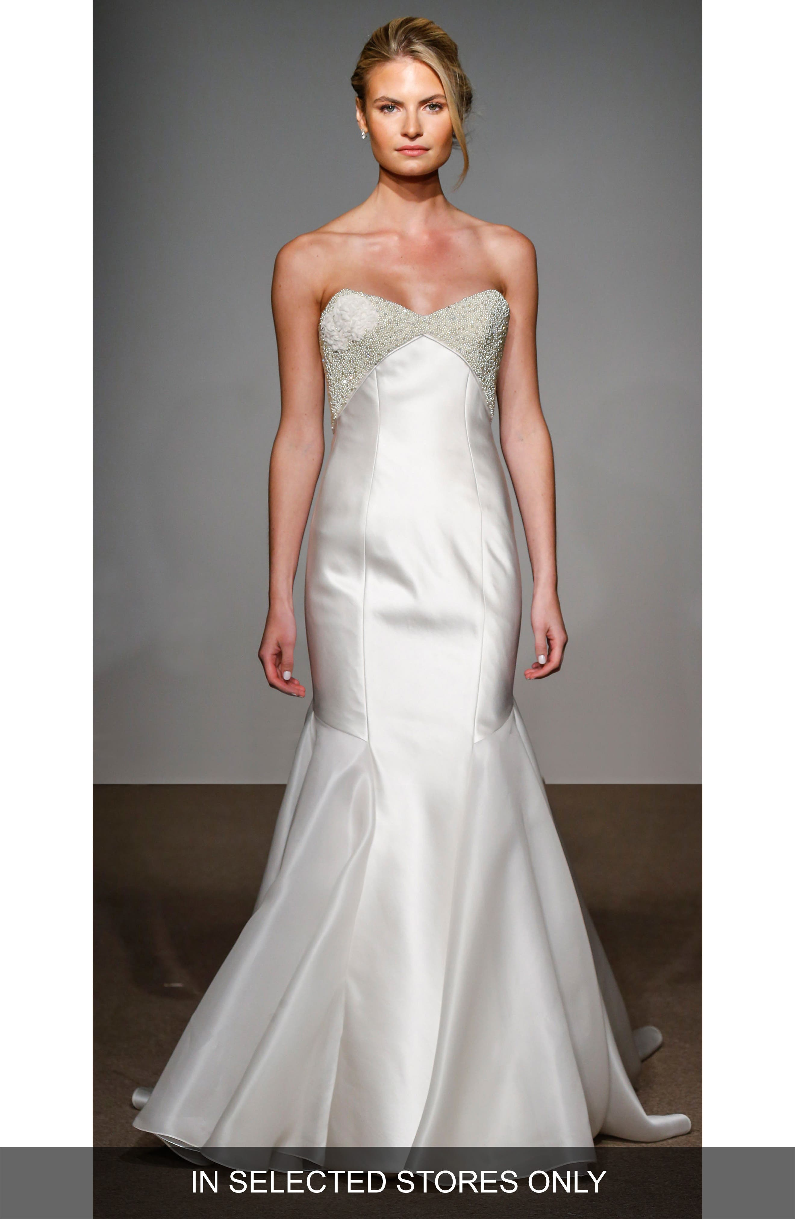Anna Maier Couture Helene Strapless Silk Duchess Satin Gown (In Selected Stores Only)