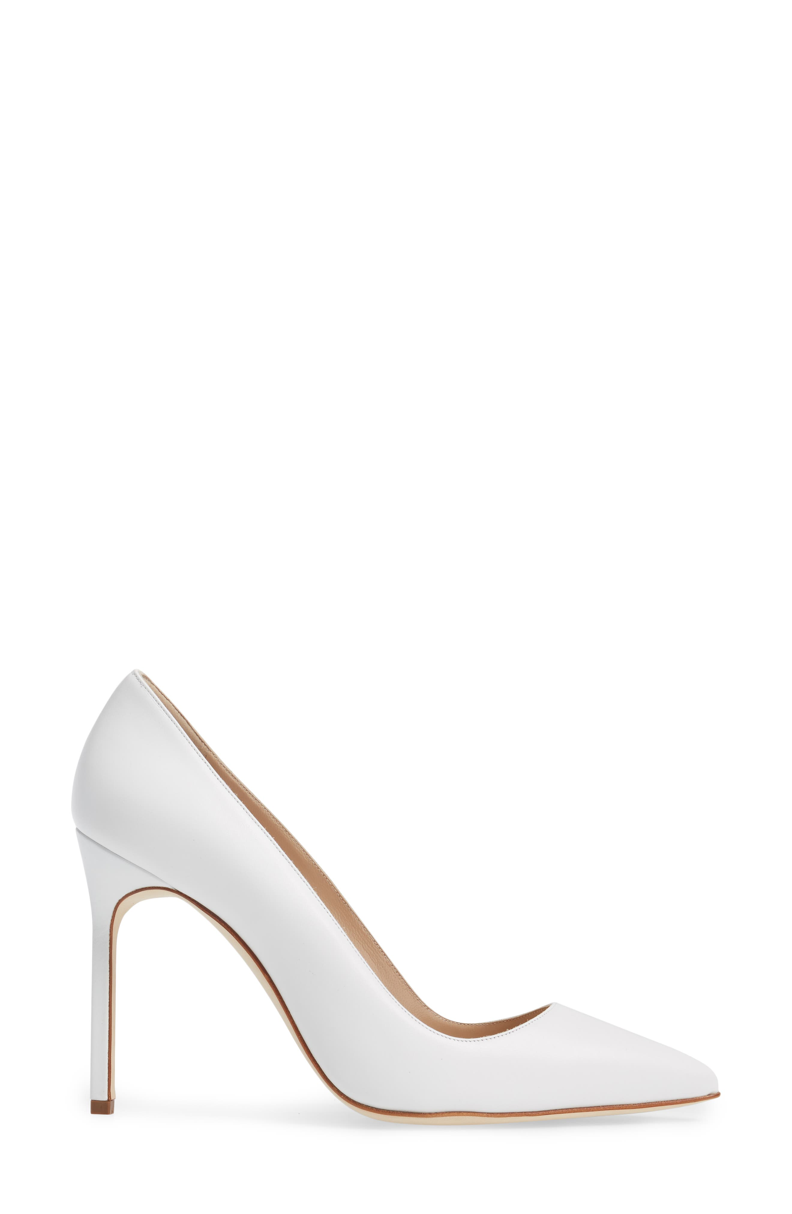 Alternate Image 6  - Manolo Blahnik 'BB' Pointy Toe Pump (Women)
