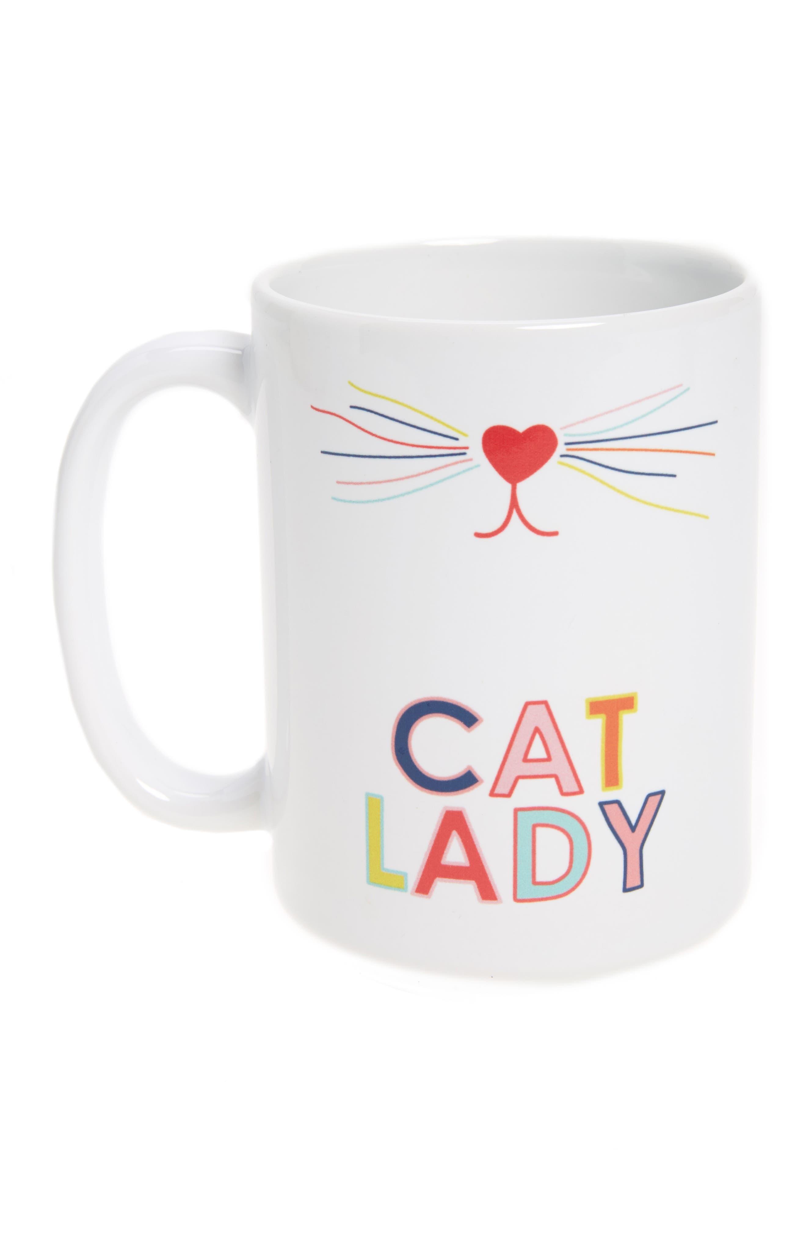 Toss Designs Cat Lady Mug