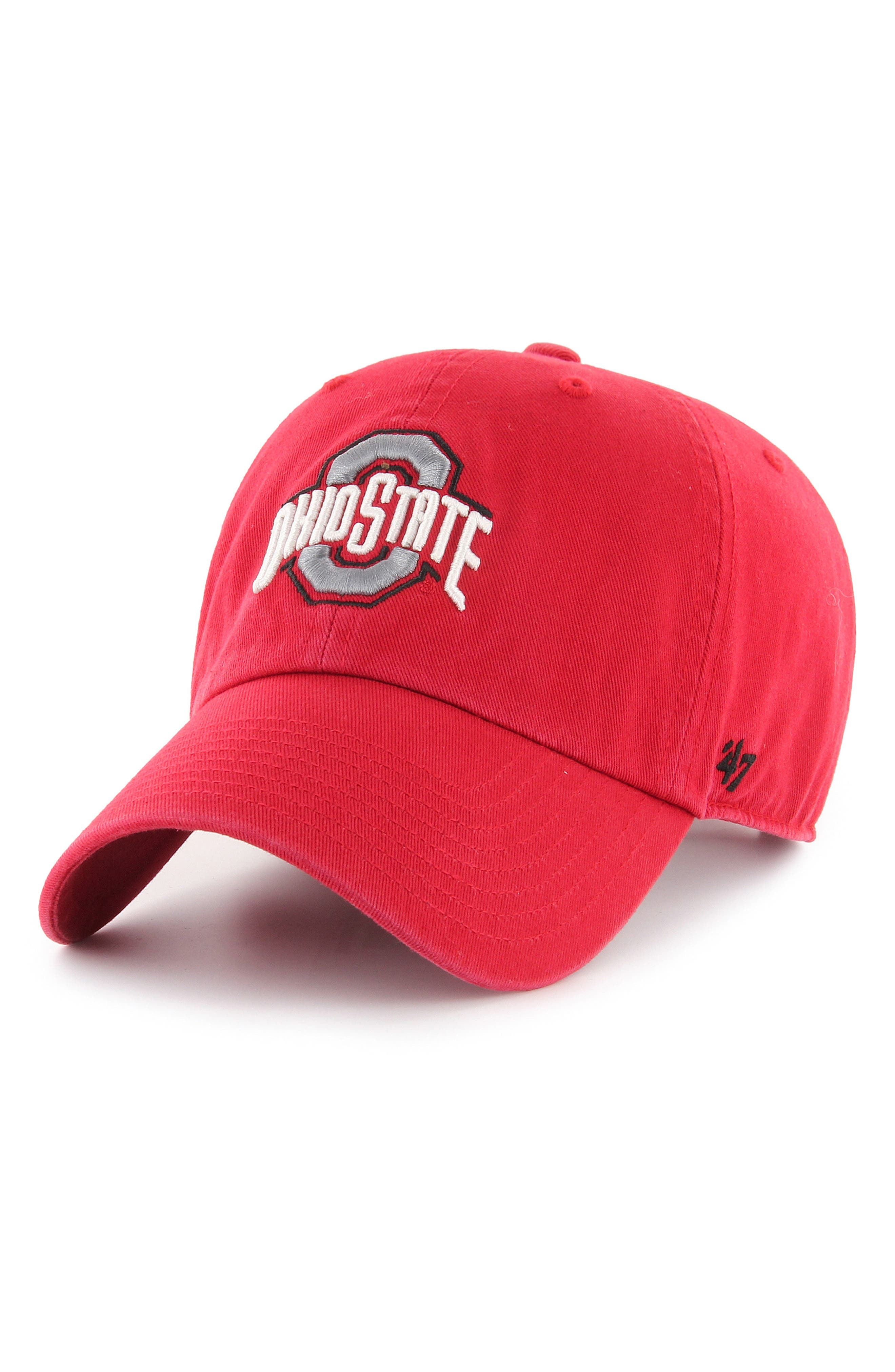47 Brand Clean Up Ohio State Baseball Cap