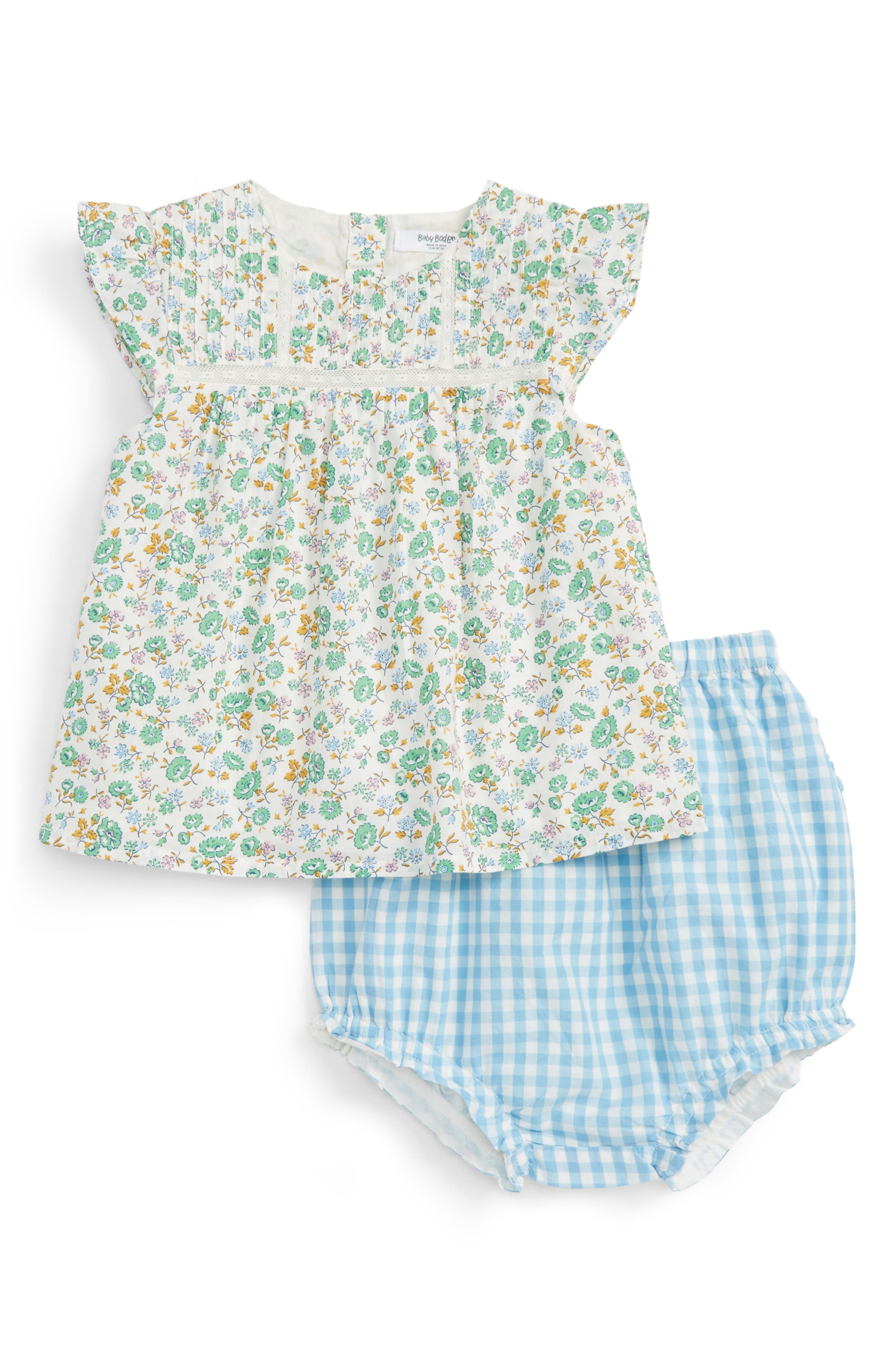 Mini Boden Vacation Top & Bloomers Set (Baby Girls & Toddler Girls)