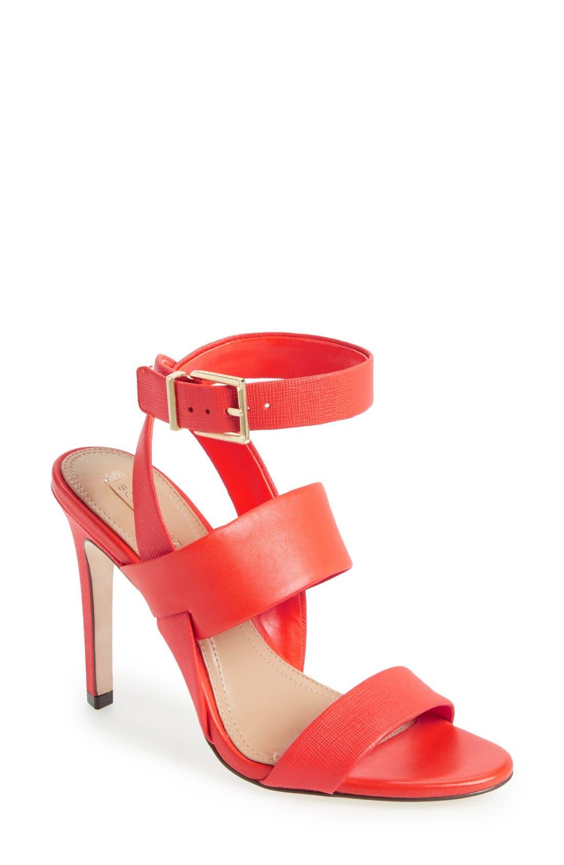 Main Image - BCBGMAXAXRIA 'Ricky' Ankle Strap Sandal (Women)